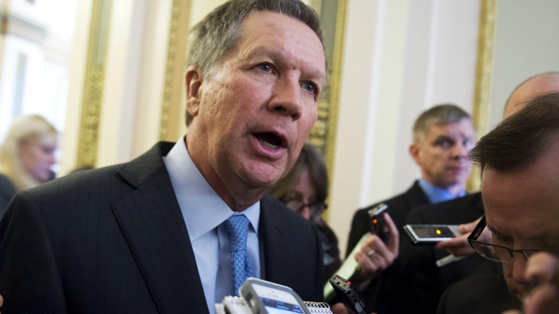 Ohio Governor John Kasich will run for president
