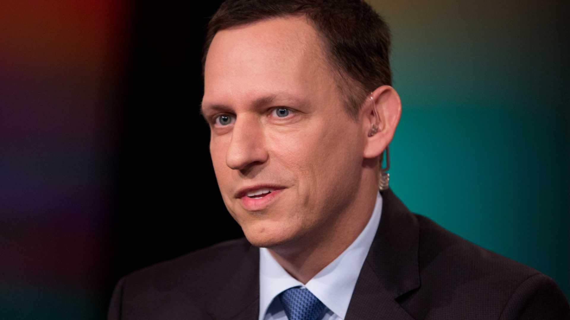 Peter Thiel's Palantir Just Raised $450 Million