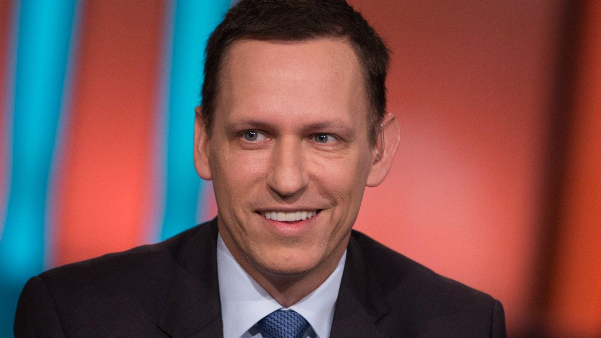 Peter Thiel Tells Graduates, 'Do Not Squander Your Ignorance'