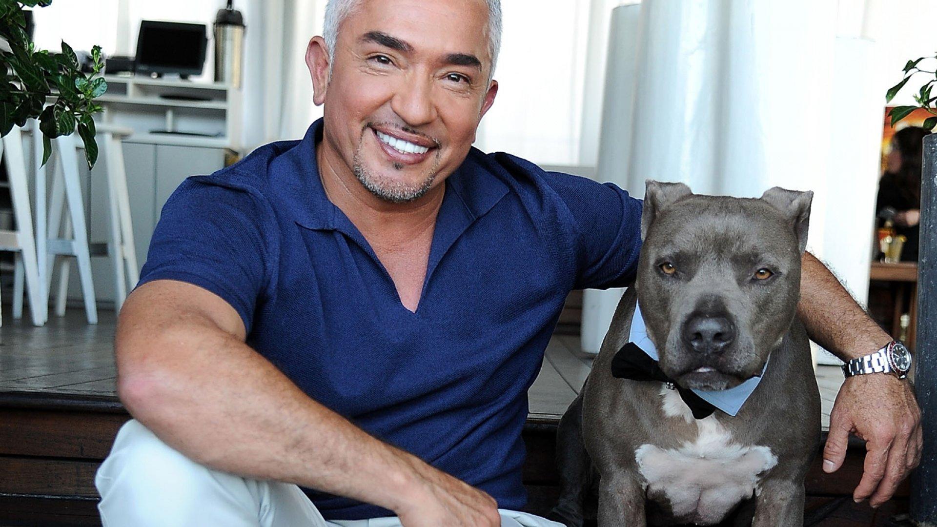 Dog Whisperer Cesar Millan.