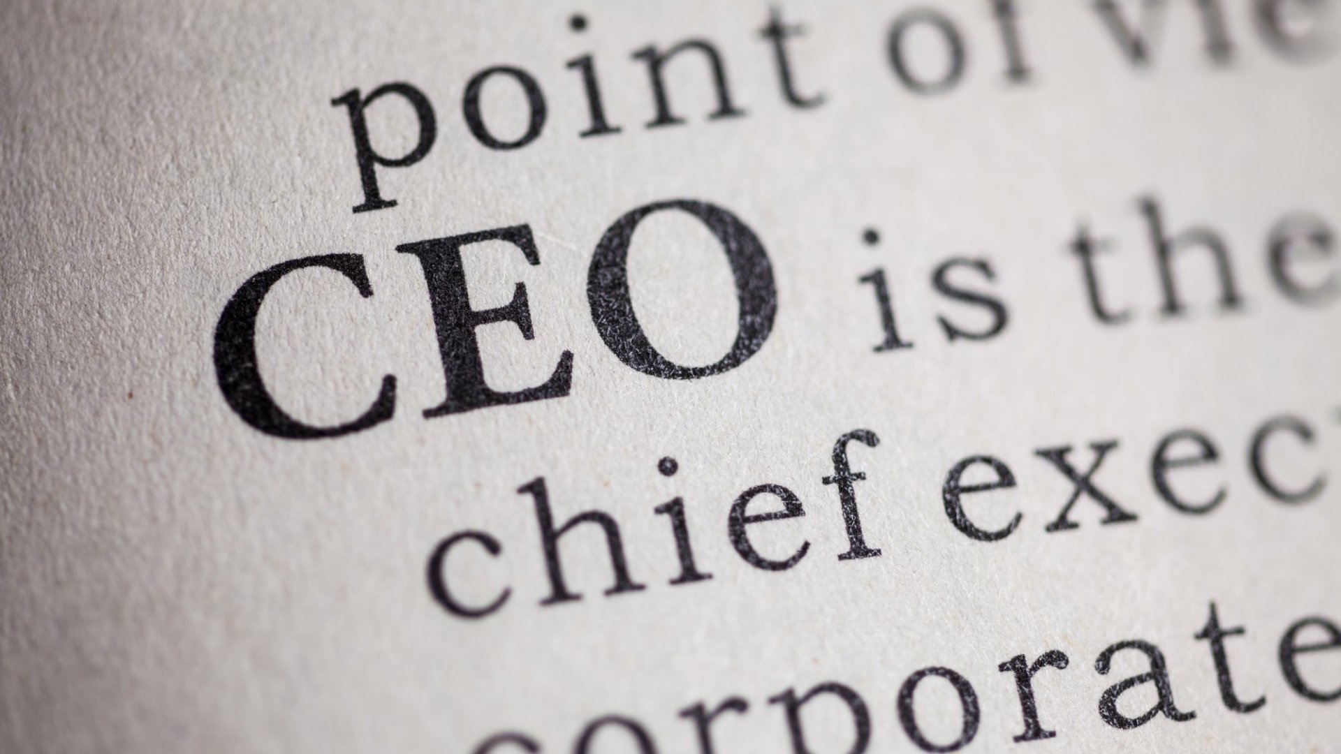 This Is What Happened When a Company Did Away With C-Suite Titles