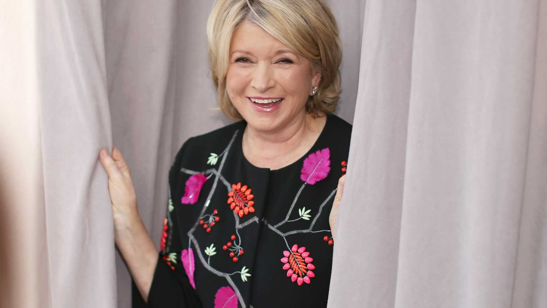Martha Stewart's Simple Habit for Staying Inspired