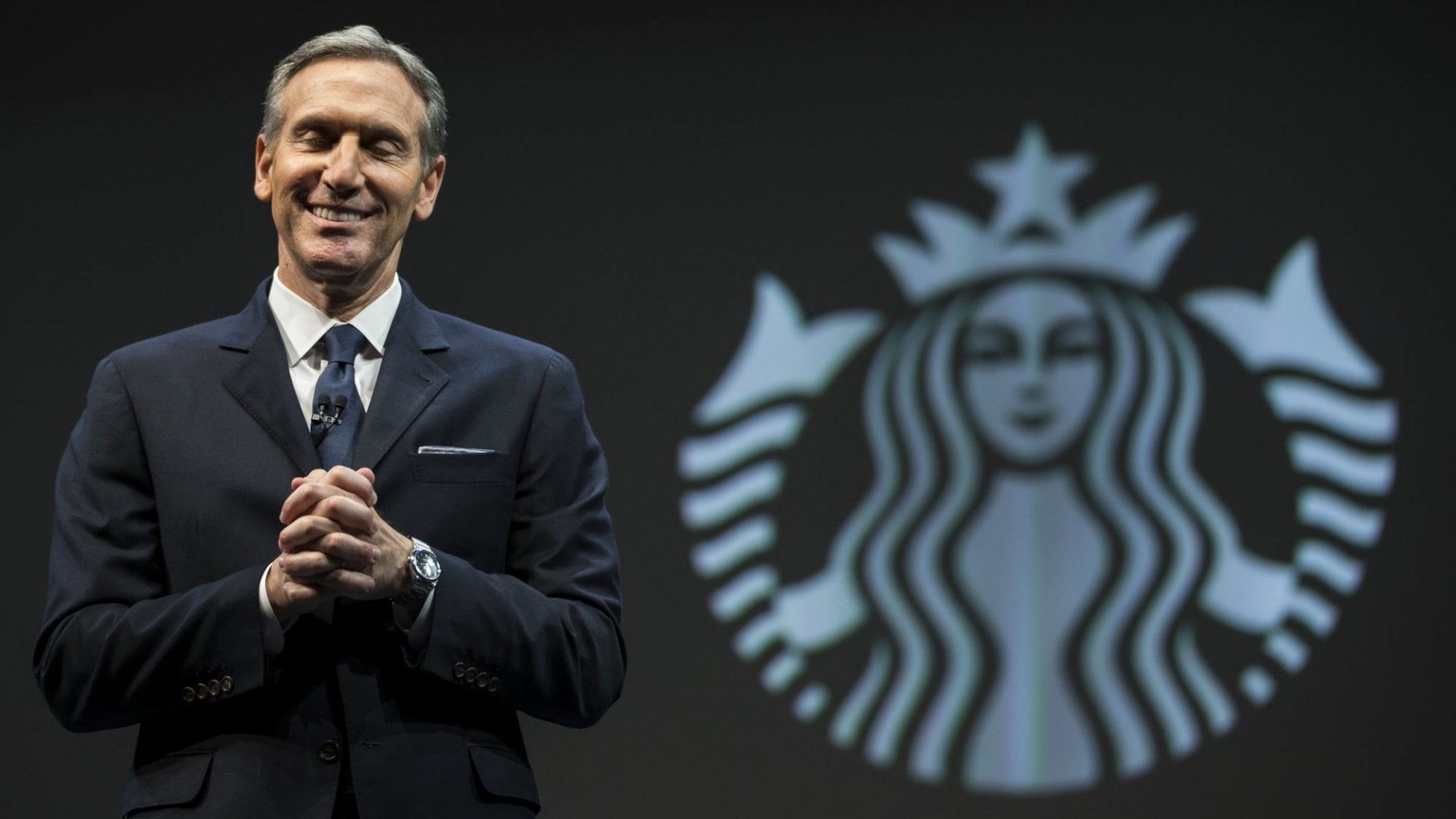 Luck played a big role for Howard Schultz's success with Starbucks.