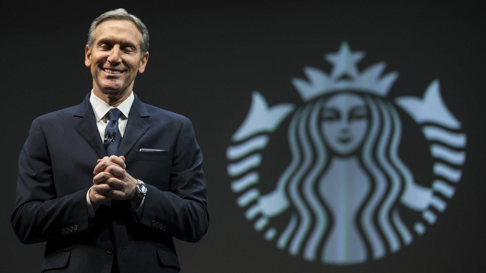 Why Beloved Ex-CEO Howard Schultz Is Giving Starbucks a Headache