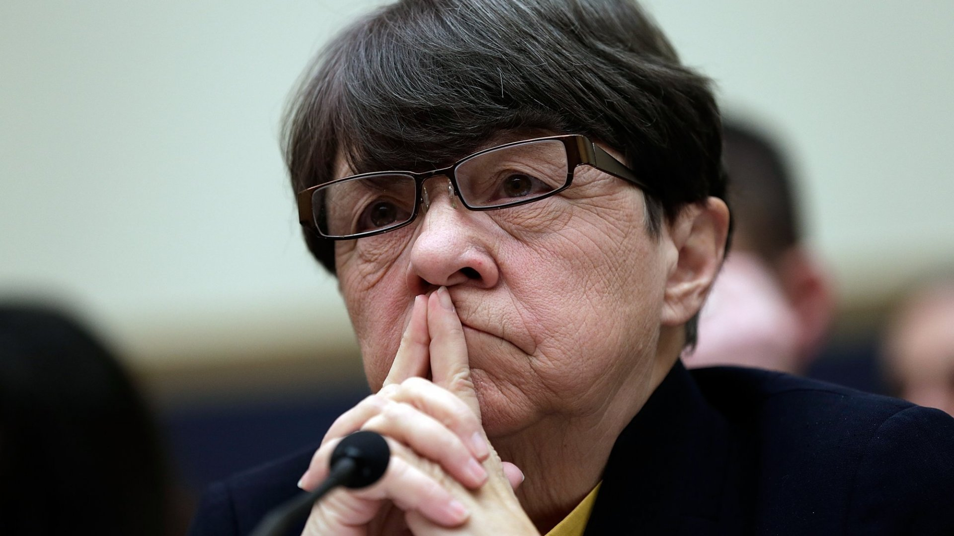 Securities and Exchange Commission Chairwoman Mary Jo White