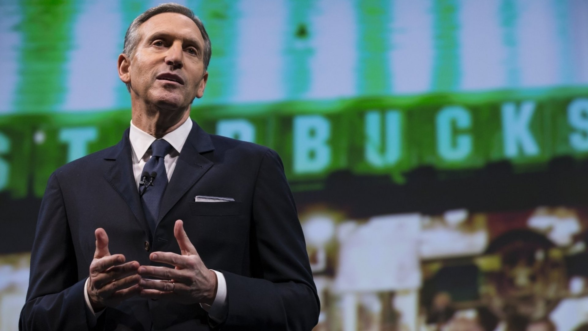 Starbucks Chairman and former CEO Howard Schultz.