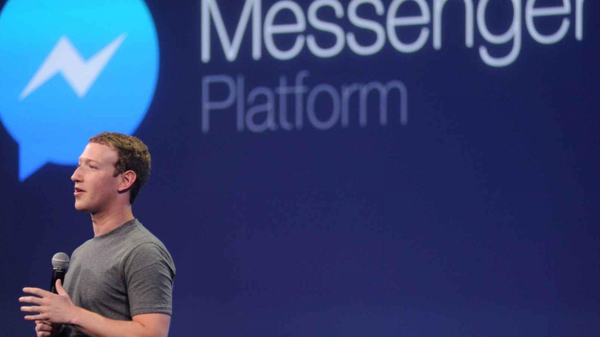 Facebook Messenger Surpasses 1 Billion in Users