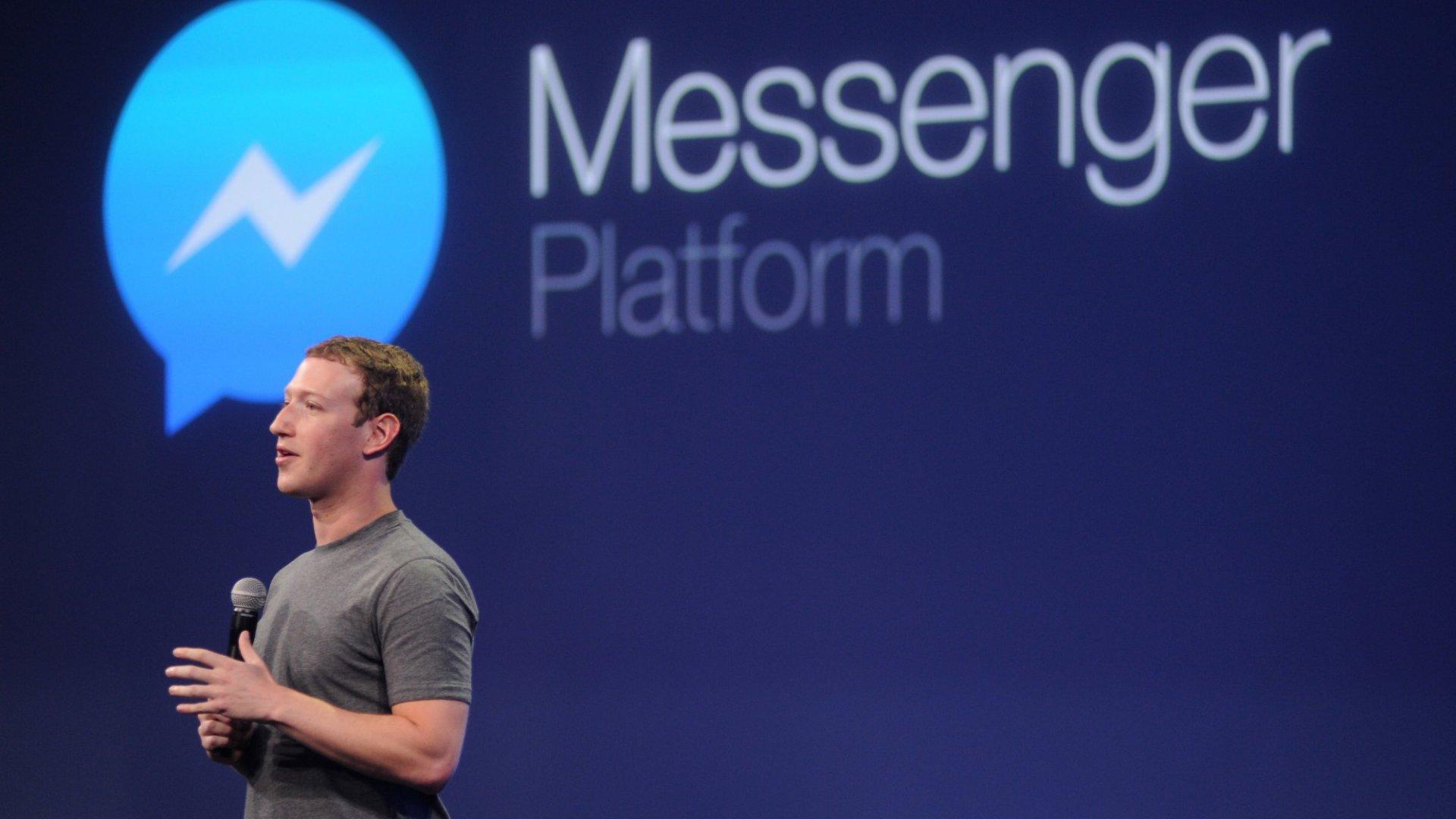 Facebook Launches 'Lite' Version of Messenger Overseas