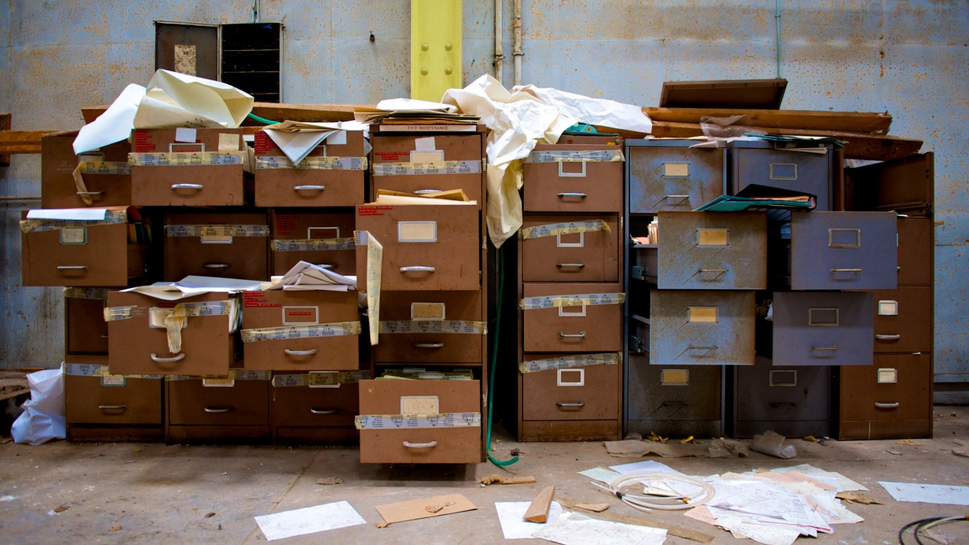 In business we can't afford to be disorganized