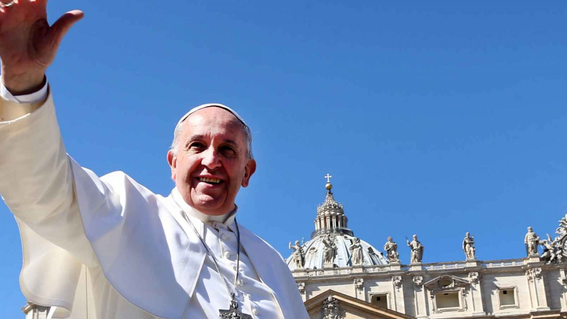 Pope Francis at the Vatican.