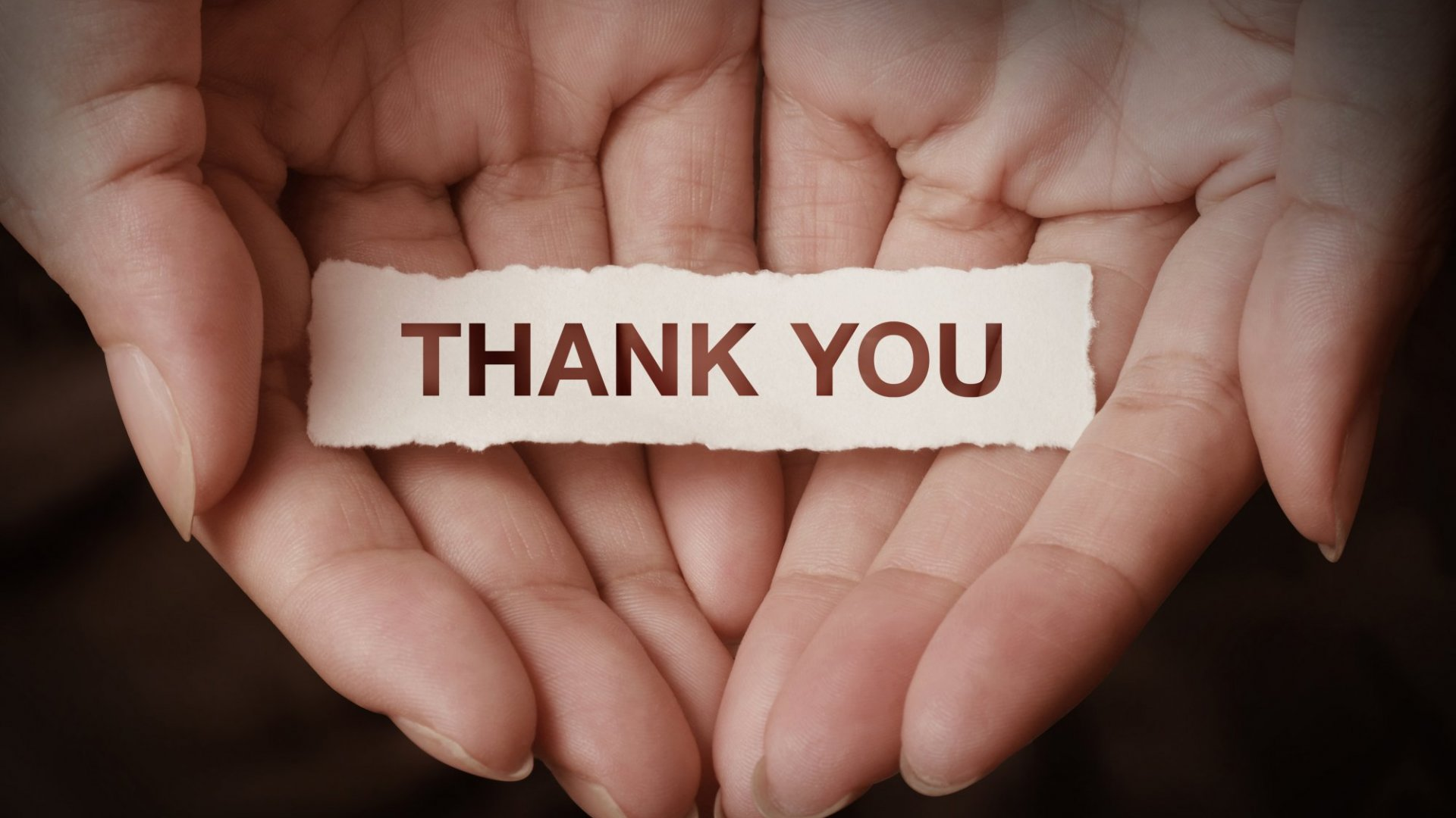 Giving and thanks has a surprisingly high return on investment.