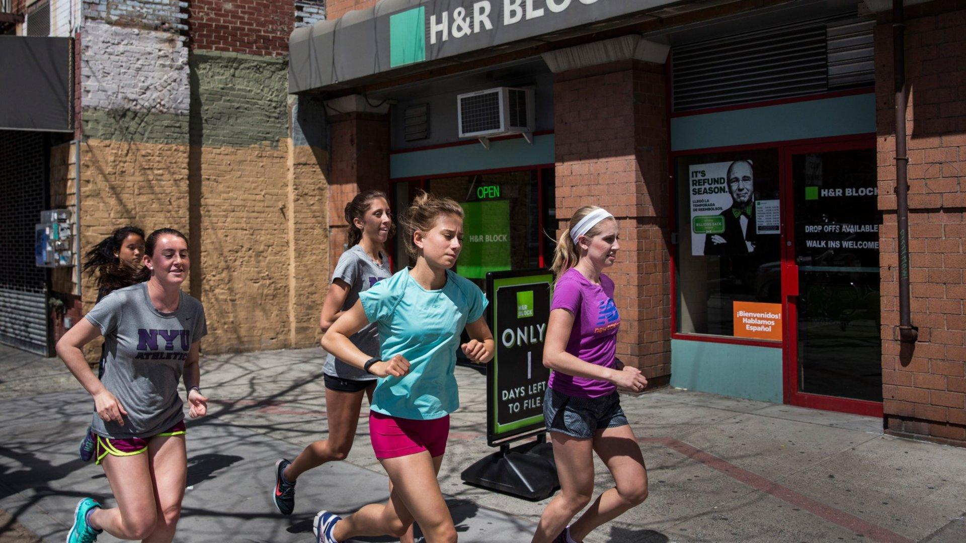 H&R Block is a popular franchise that enjoys tremendous success.