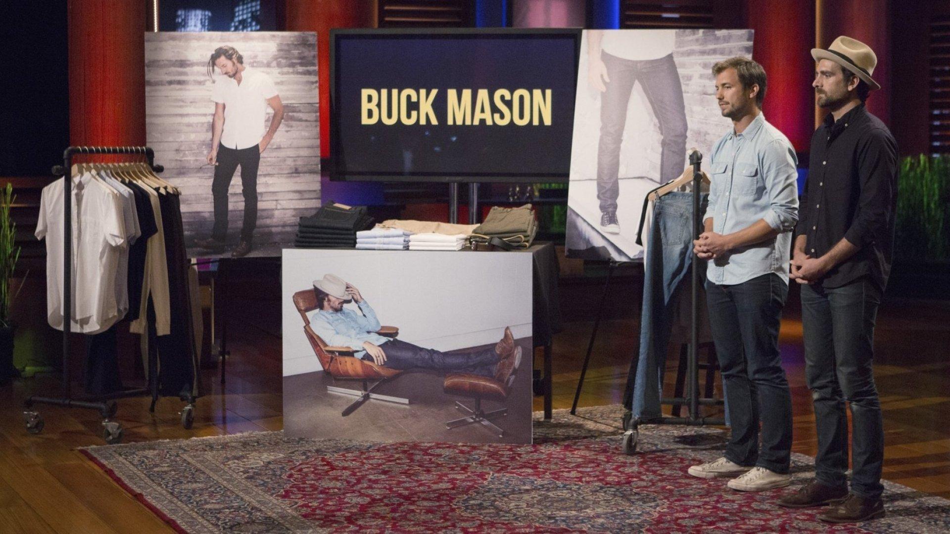 Buck Mason co-founders Sasha Koehn (left) and Erik Schnakenberg.