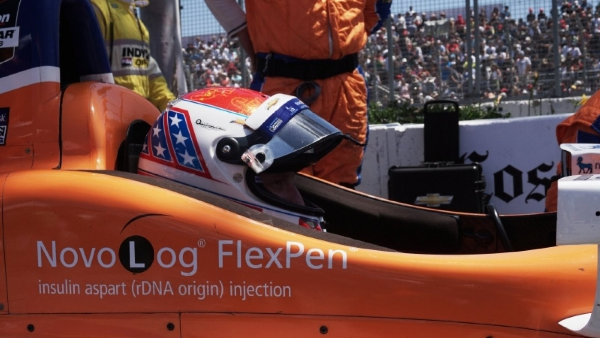 Why a Diabetic Indianapolis 500 Driver Is the Perfect Pitchman
