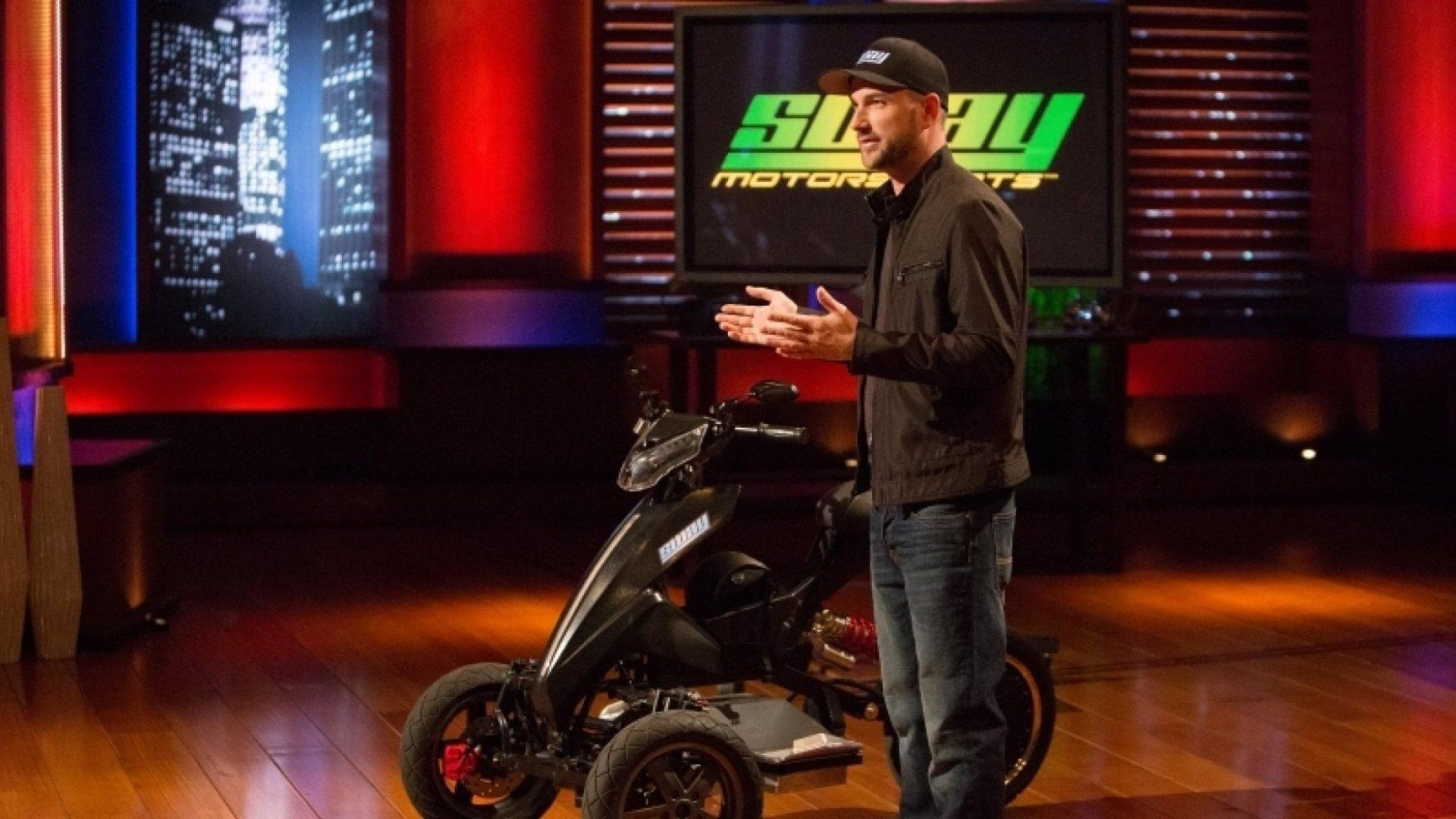 Joe Wilcox of Sway Motorsports.