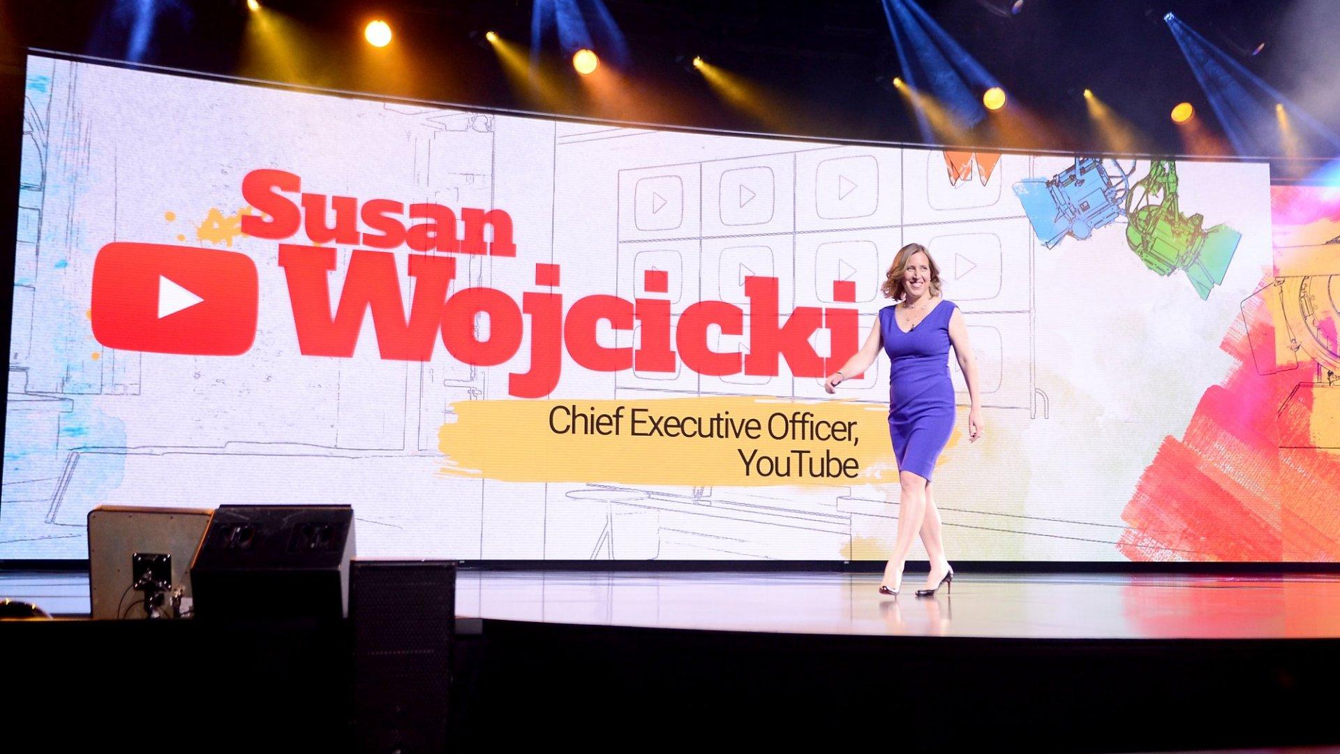 YouTube CEO Susan Wojcicki: That Notorious Google Memo 'Really Upset Me'