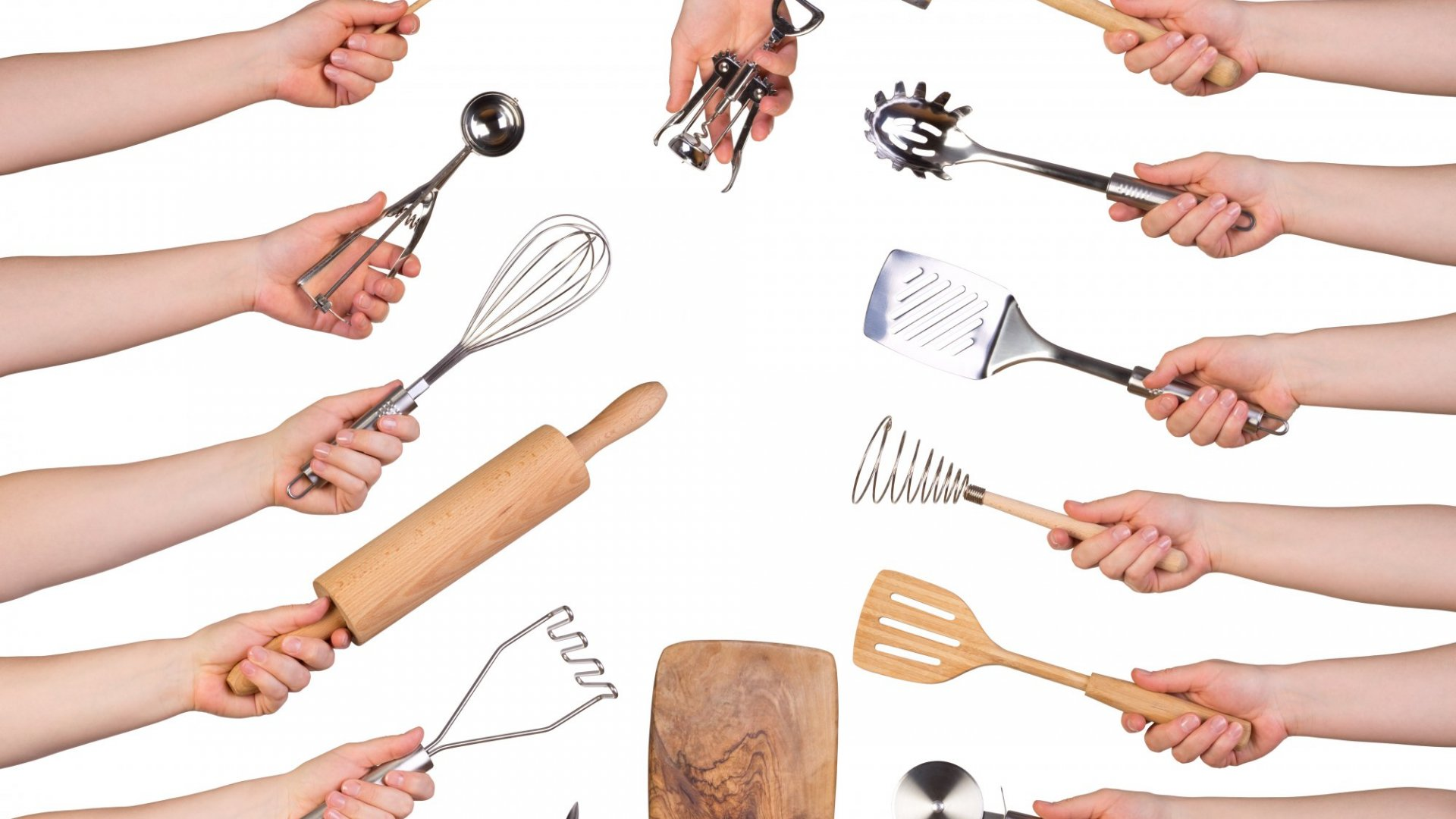 Redesigned kitchen gadgets made for the elderly and disabled are better for us all.