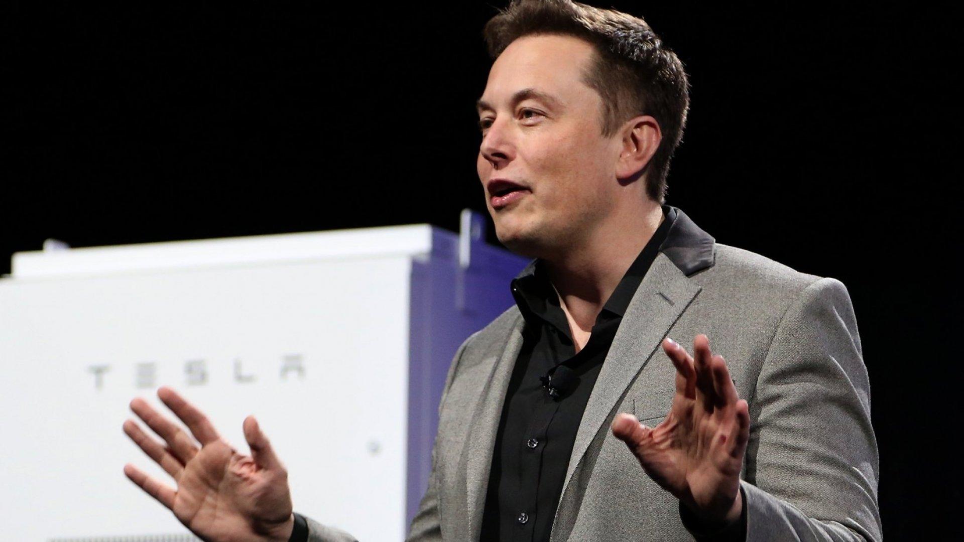 Tesla founder Elon Musk.