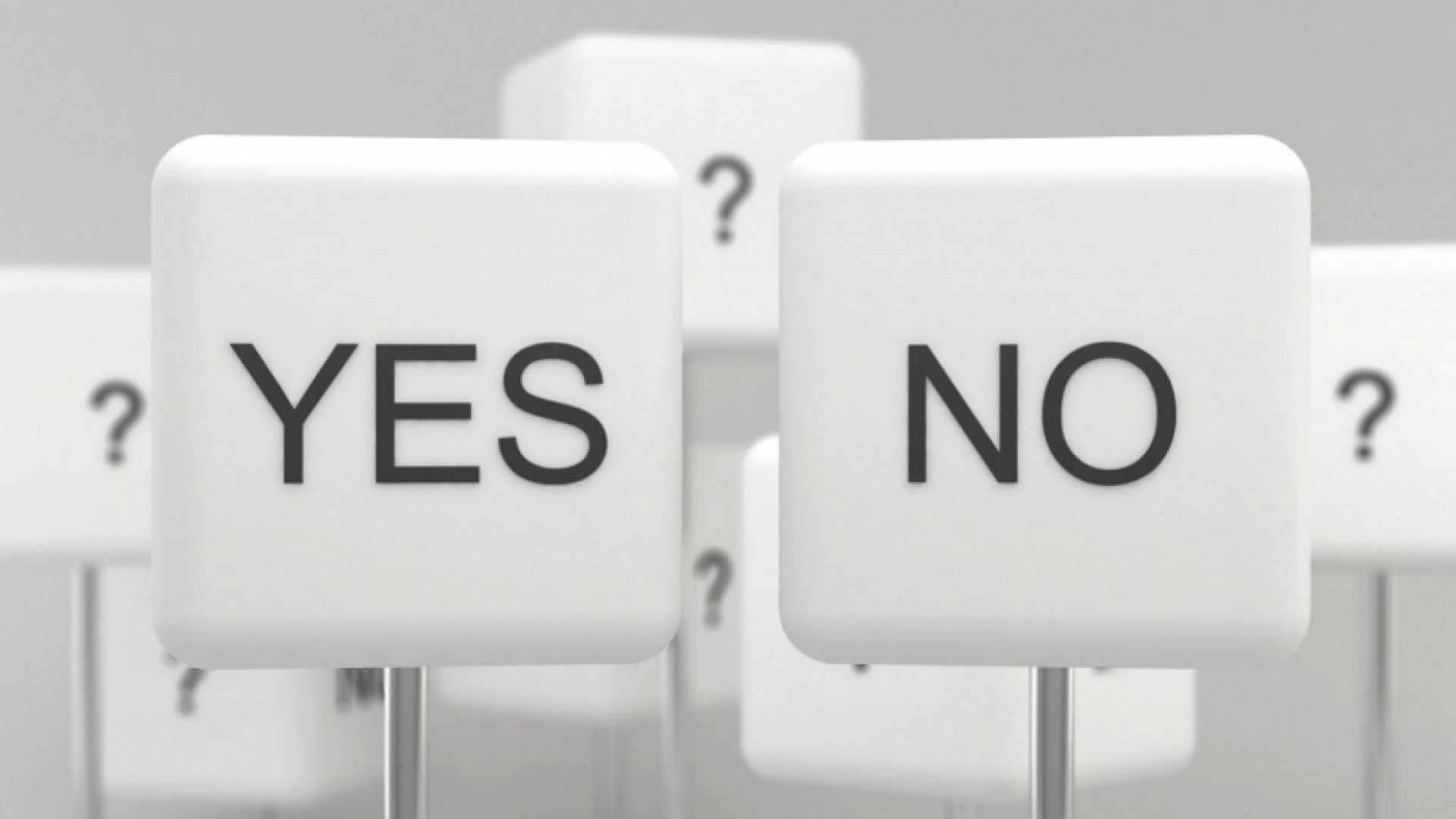 The Difficult Art of Saying No