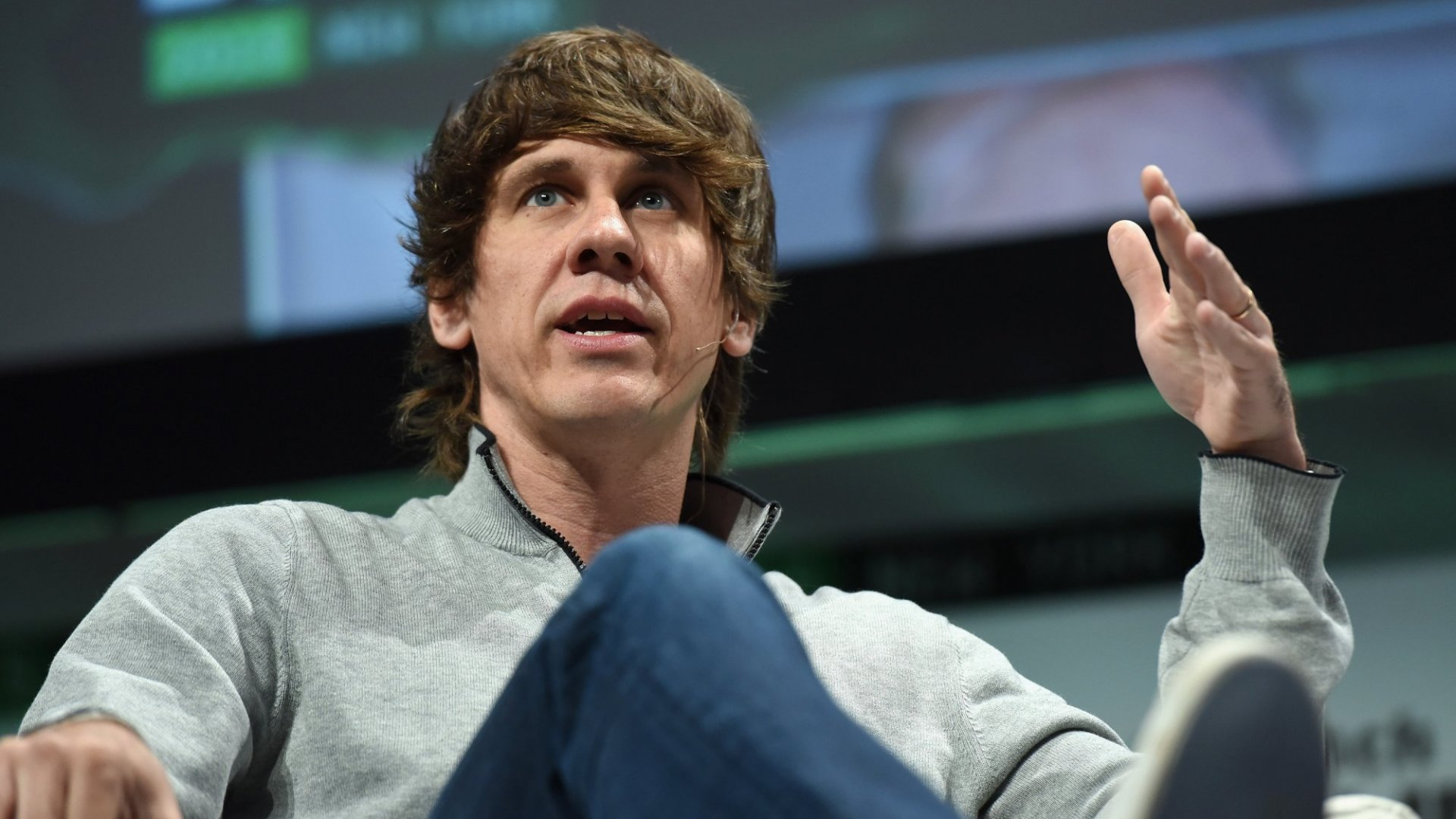 Dennis Crowley, co-founder and CEO of Foursquare.