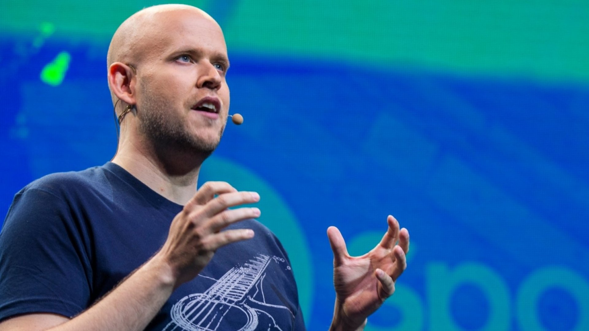 Daniel Ek, CEO and founder of Spotify.