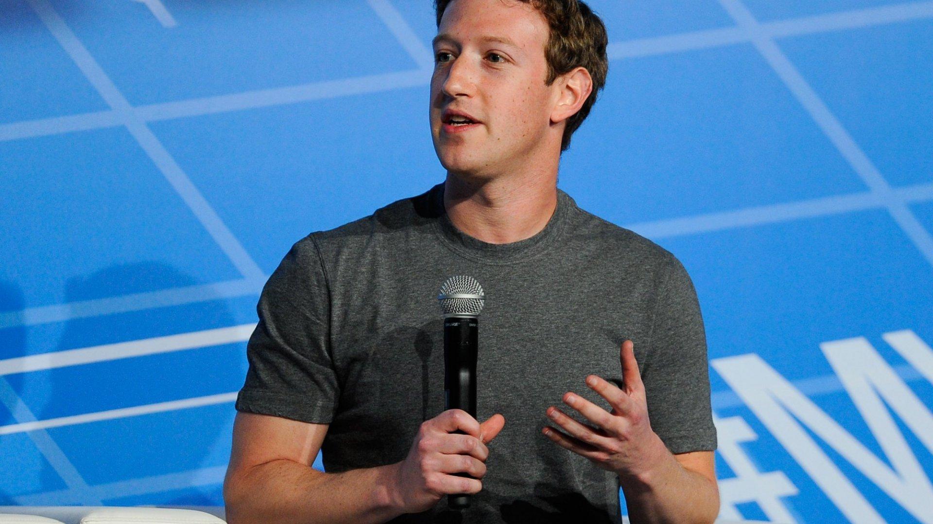 Mark Zuckerberg's Net Worth Drops $3.7 Billion in After-Hours Trading