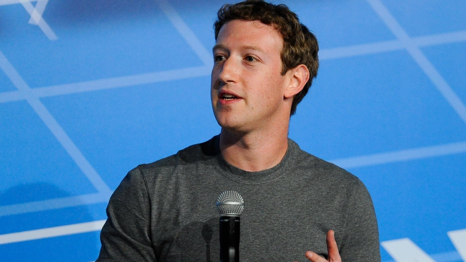 Mark Zuckerberg's Crazy Vision for How You'll Post Status Updates to Facebook in the Future