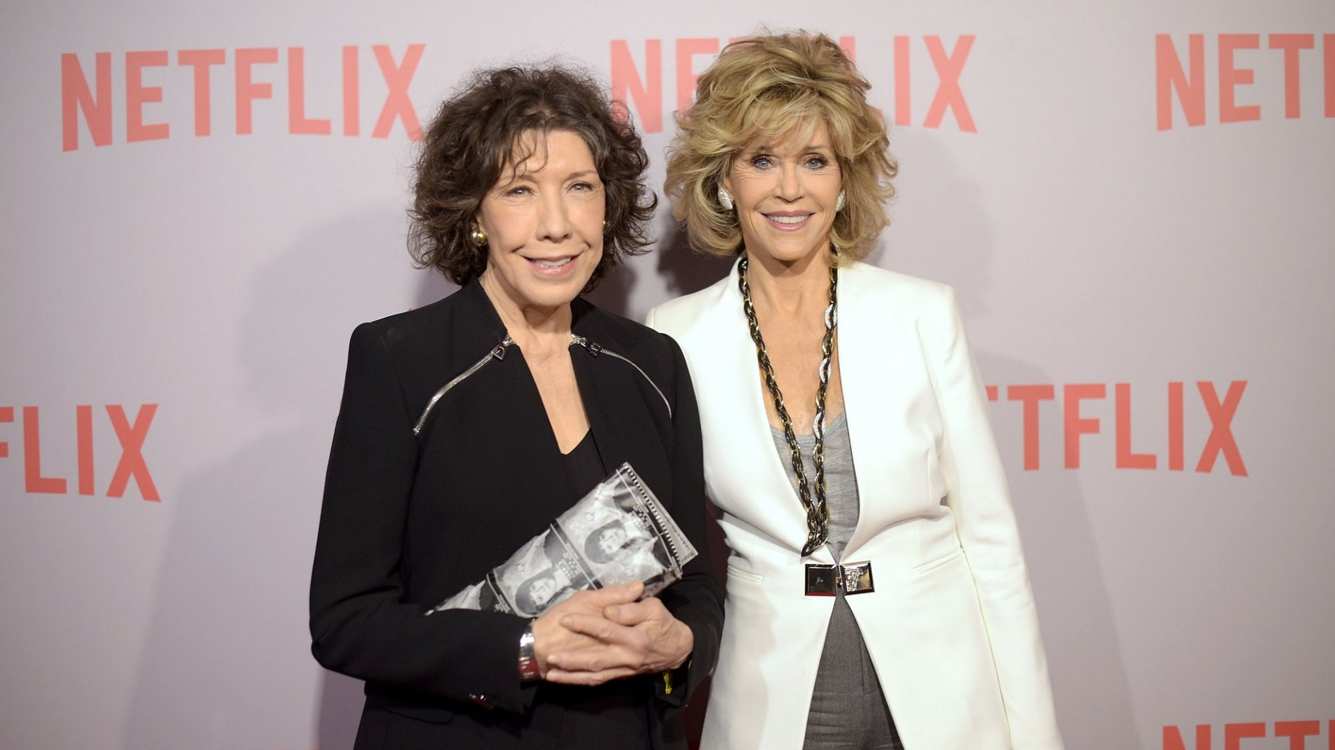 Lily Tomlin and Jane Fonda Know Nothing About Tipped Wages