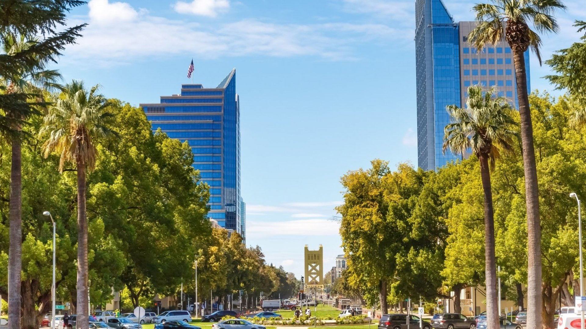 California's capital city, pictured here, could be alluring to Amazon.