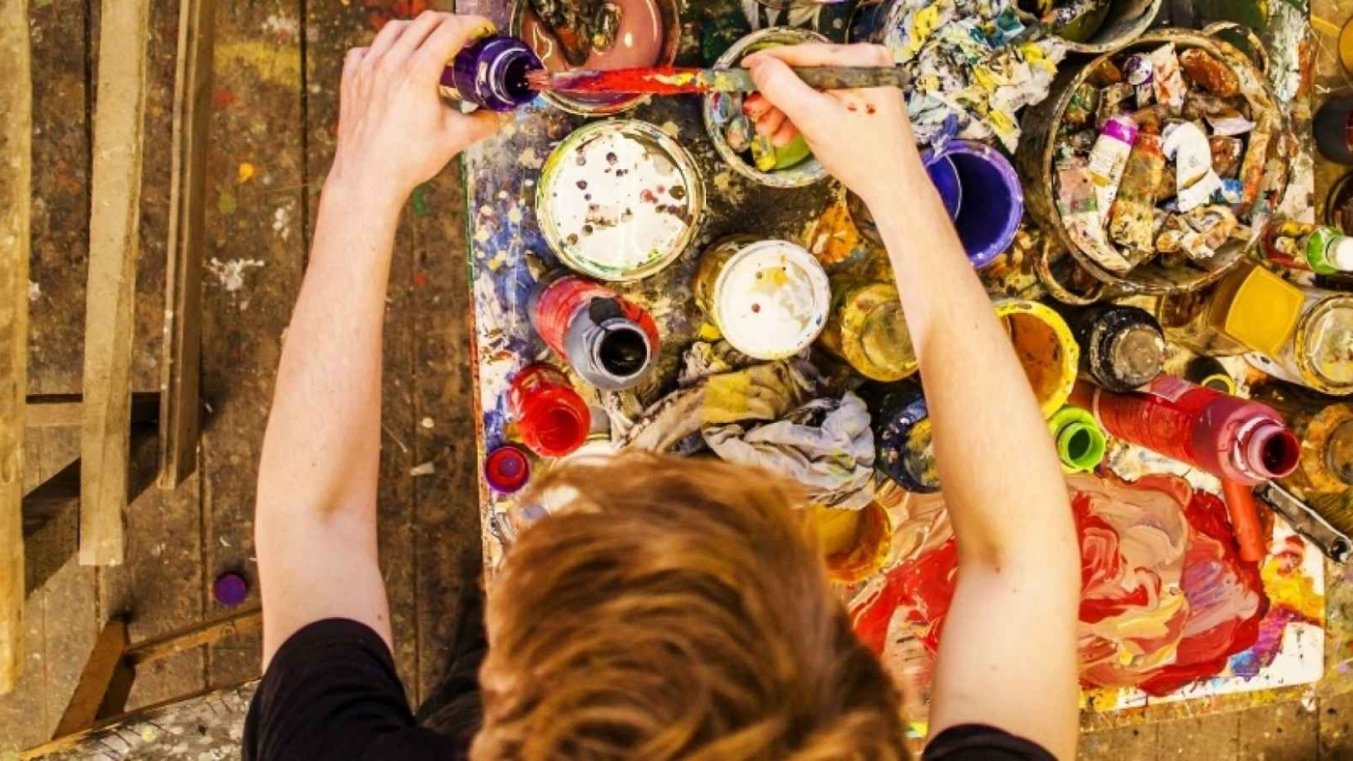Science: Making Art Reduces Stress (Even If You're Terrible at It)