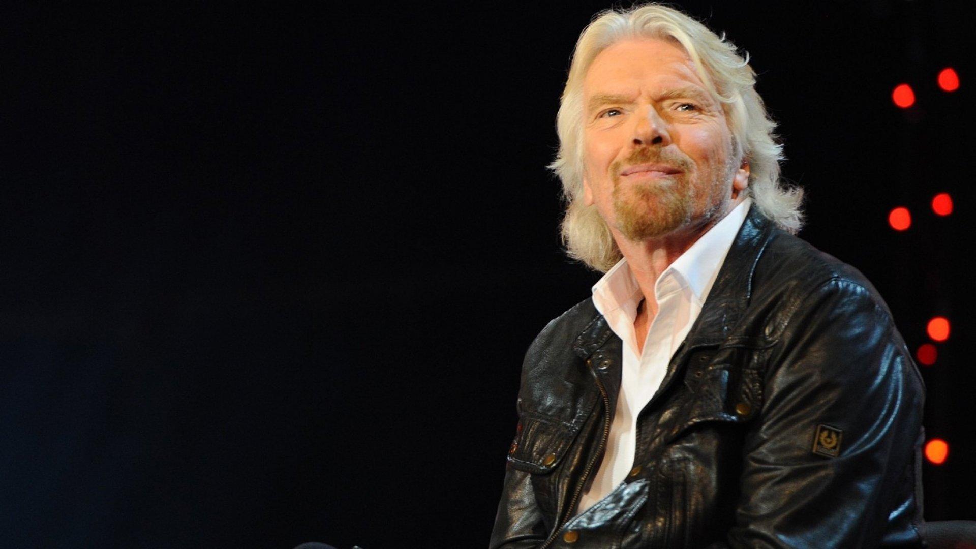 Virgin Group founder Richard Branson.