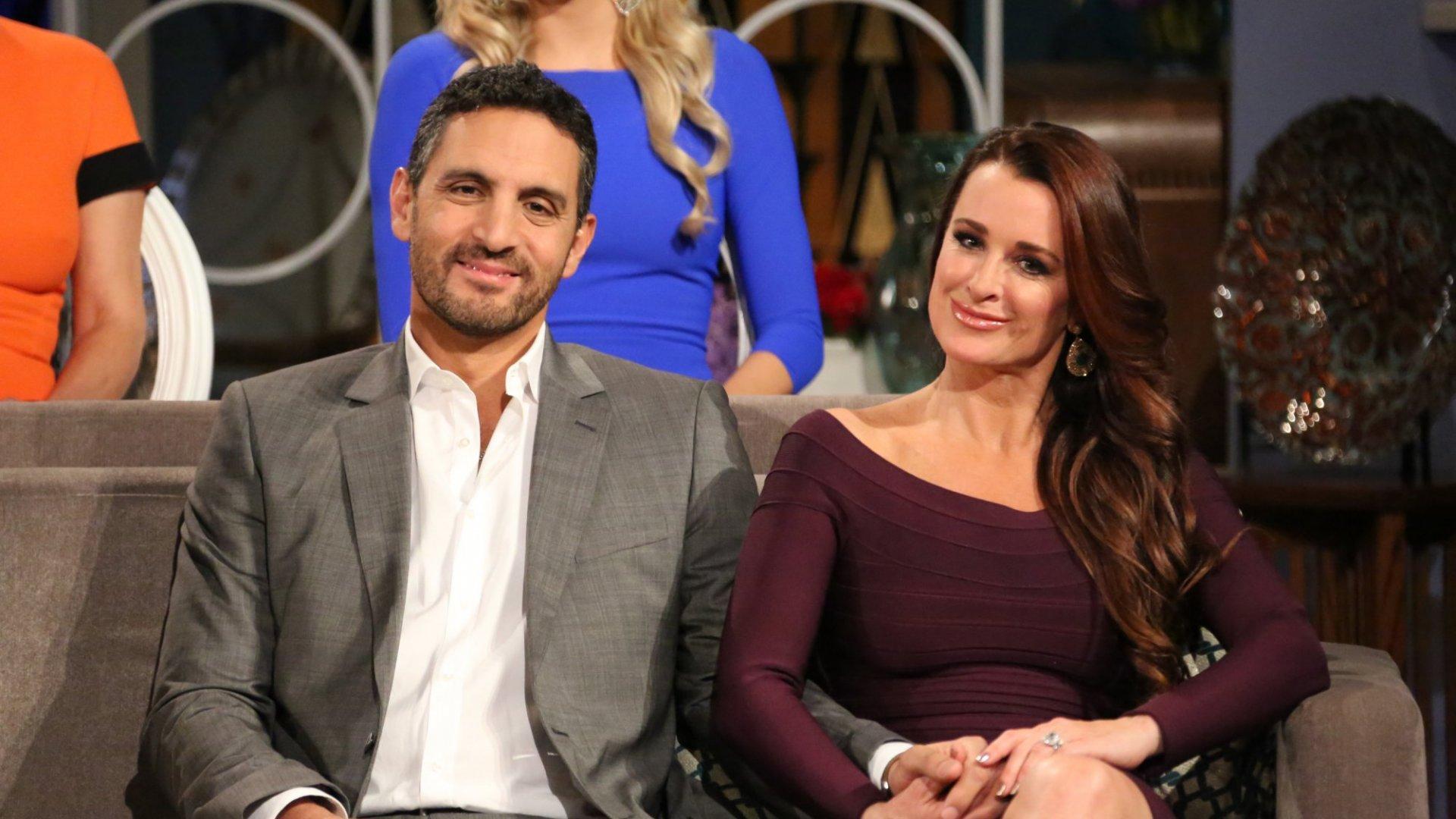 Mauricio Umansky and his wife, Kyle Richards.