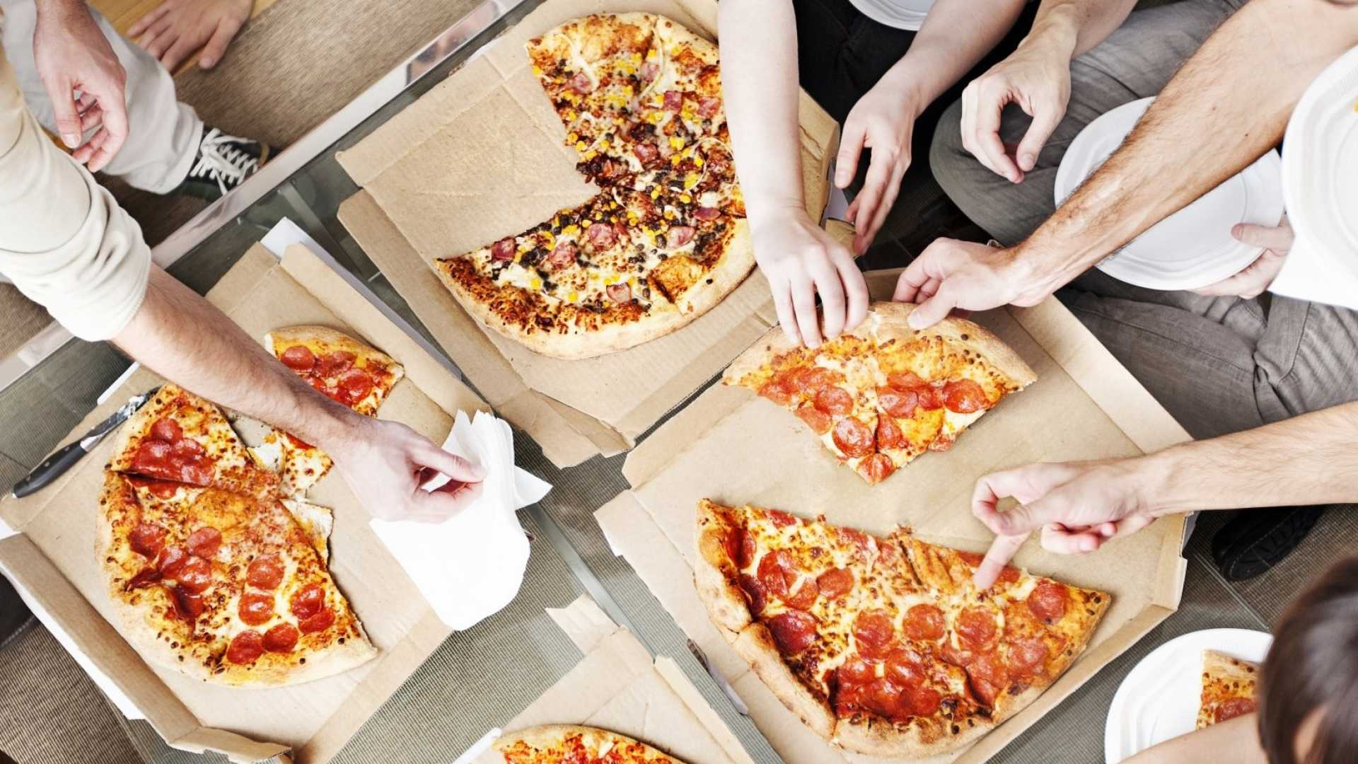 Eating in? Many people don't think of Pizza Hut.