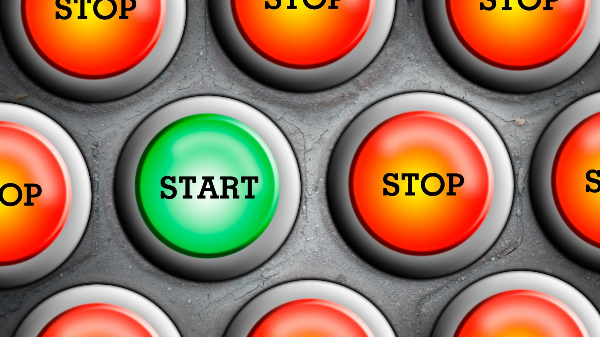 Stop start marketing is a waste of time and money.