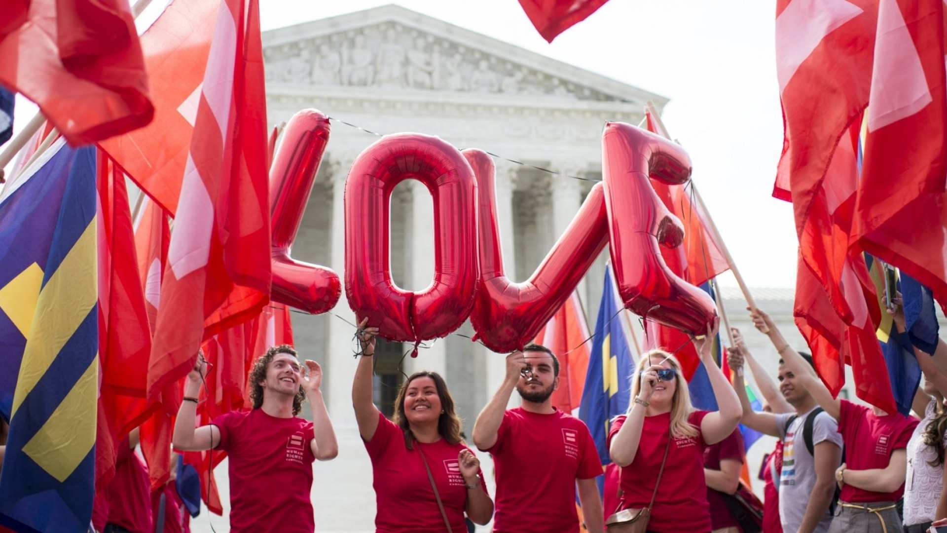 Supreme Court Extends Same-Sex Marriage Nationwide