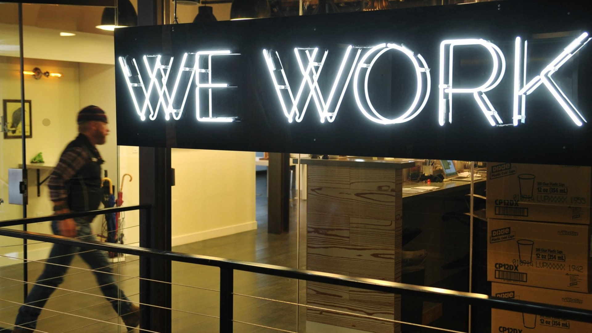 WeWork Is Burning Through Cash to Grow. Here's Why That's Good for Entrepreneurs