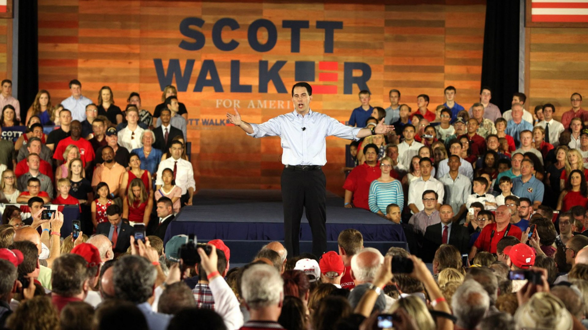 Walker: 'I Will Win and Fight for You'
