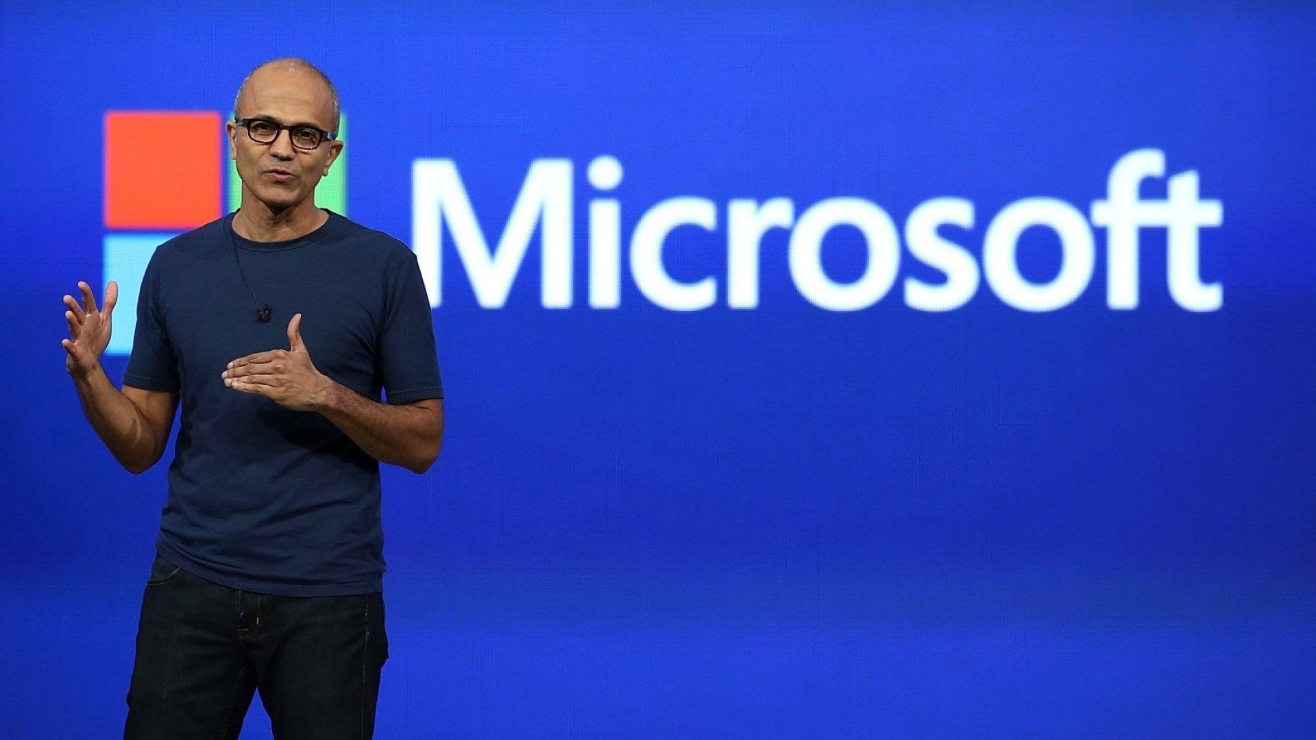 Microsoft CEO Satya Nadella Just Gave the Best Leadership Advice in 7 Words