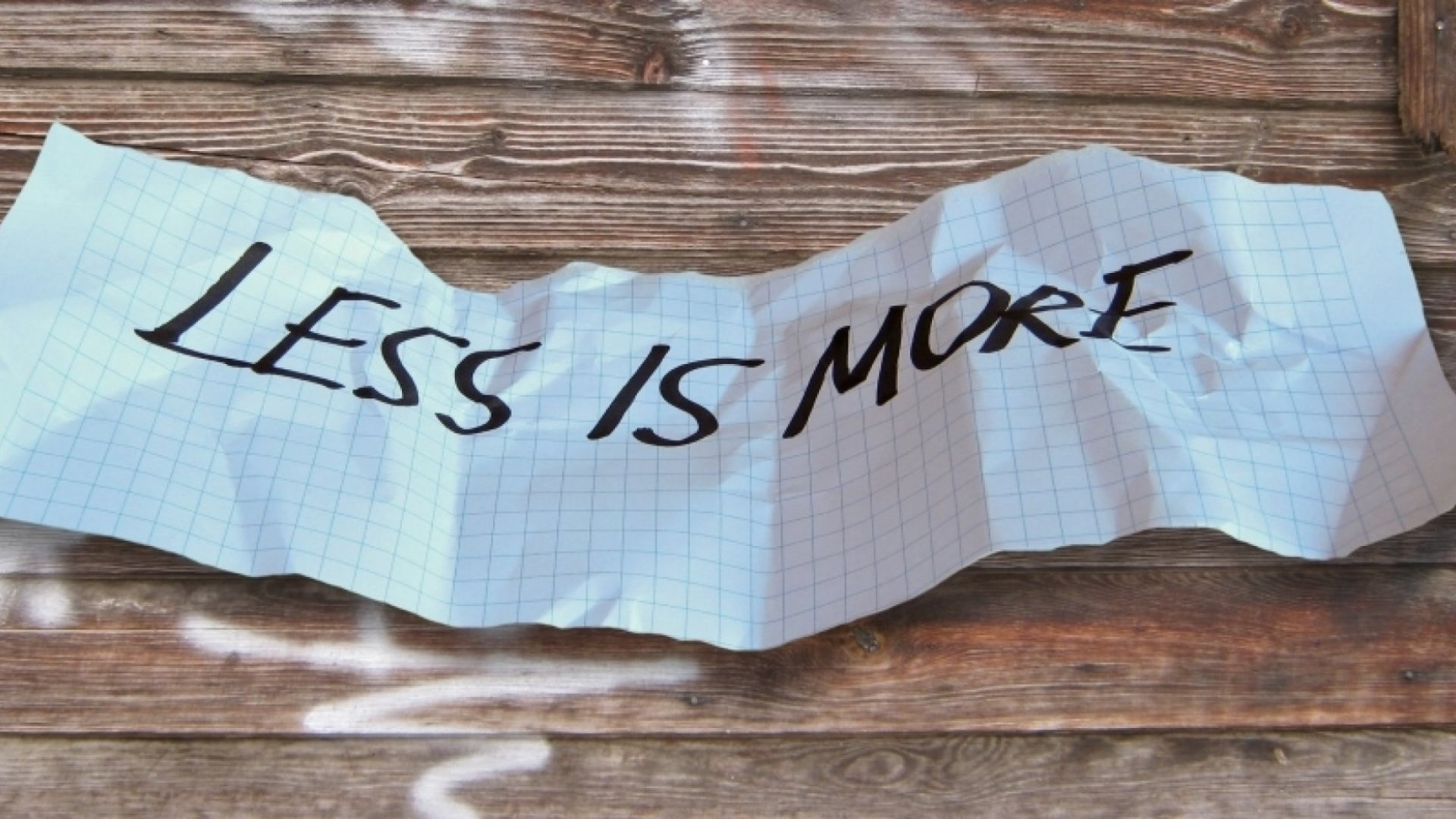 4 Startups That Are Using 'Less Is More' to Dominate Their Industries