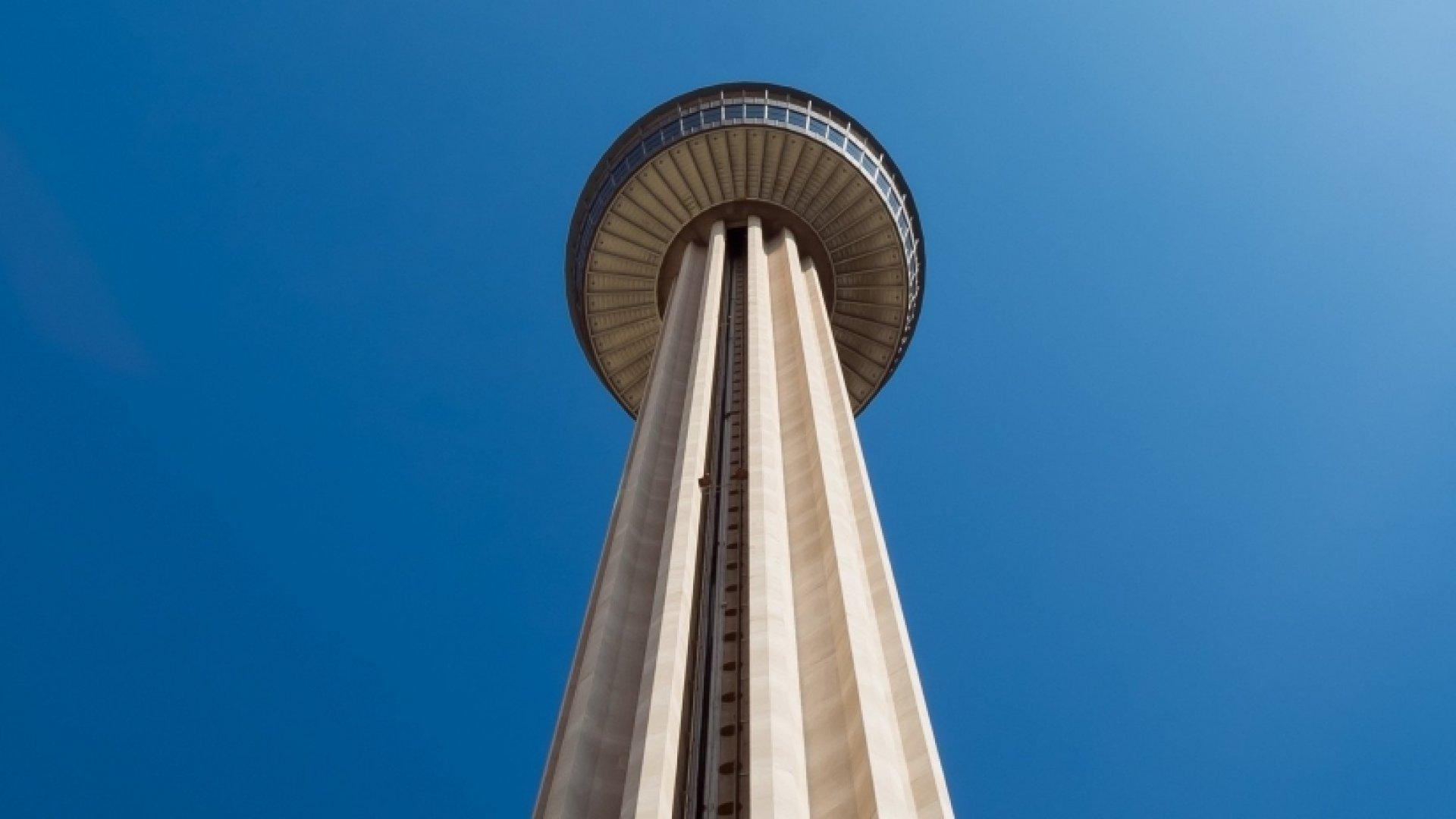 Tower of Americas in San Antonio, Texas.