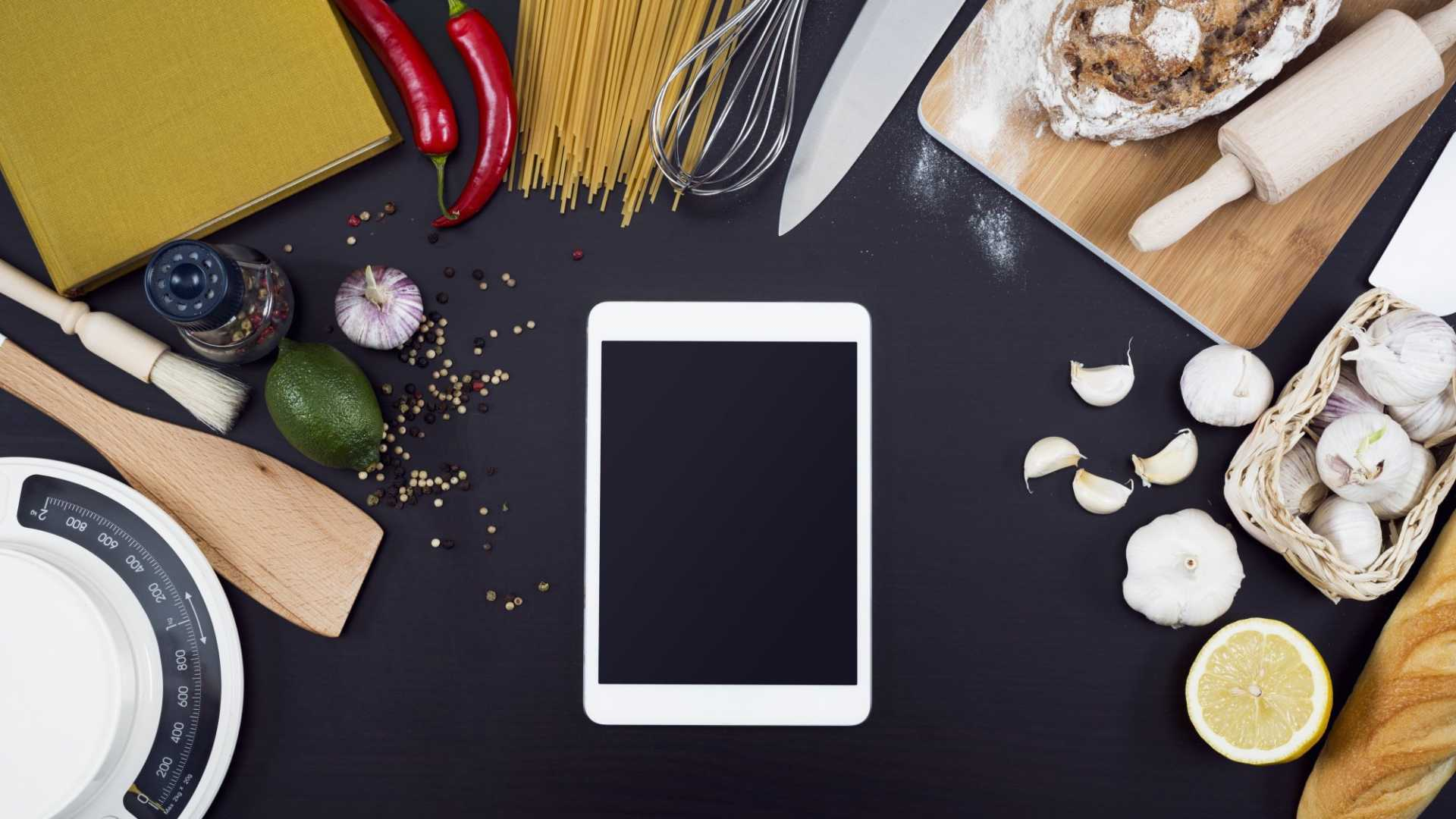 Your kitchen counter and your smart device are teaming up.