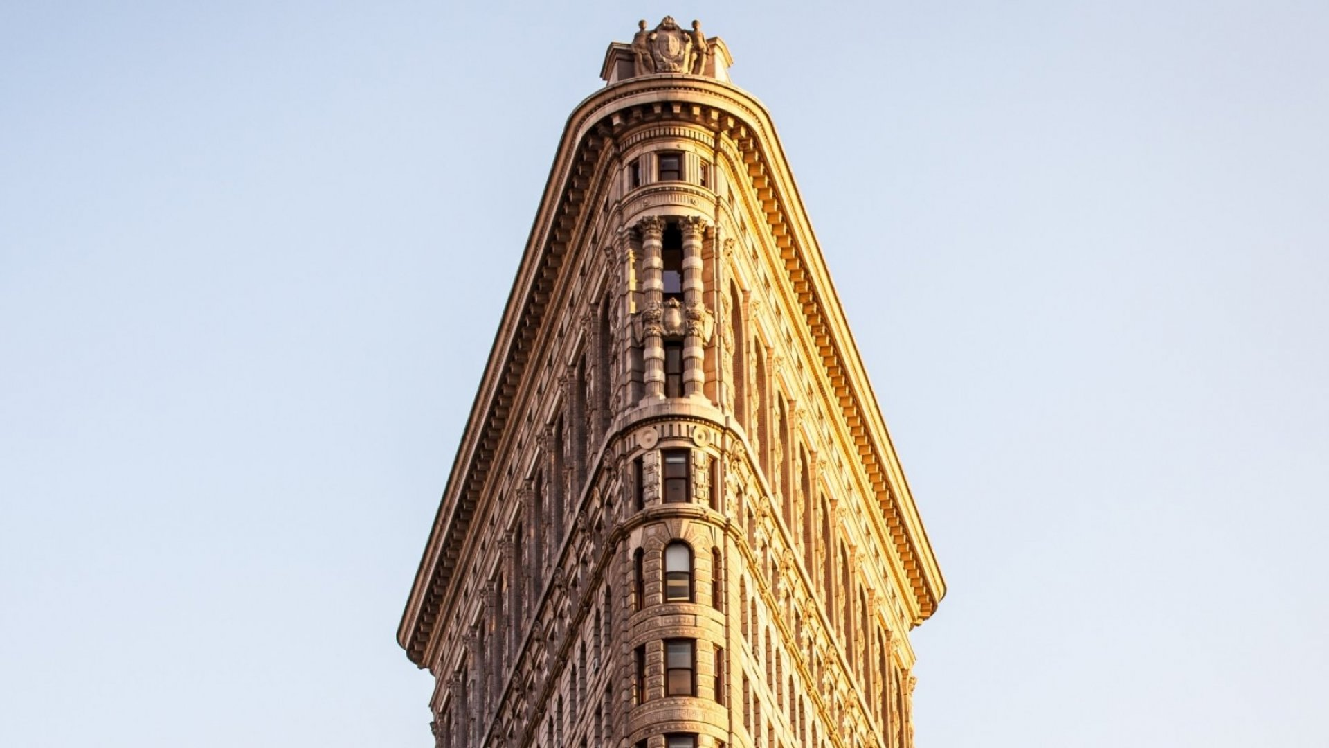 New York CIty's Flatiron Building.