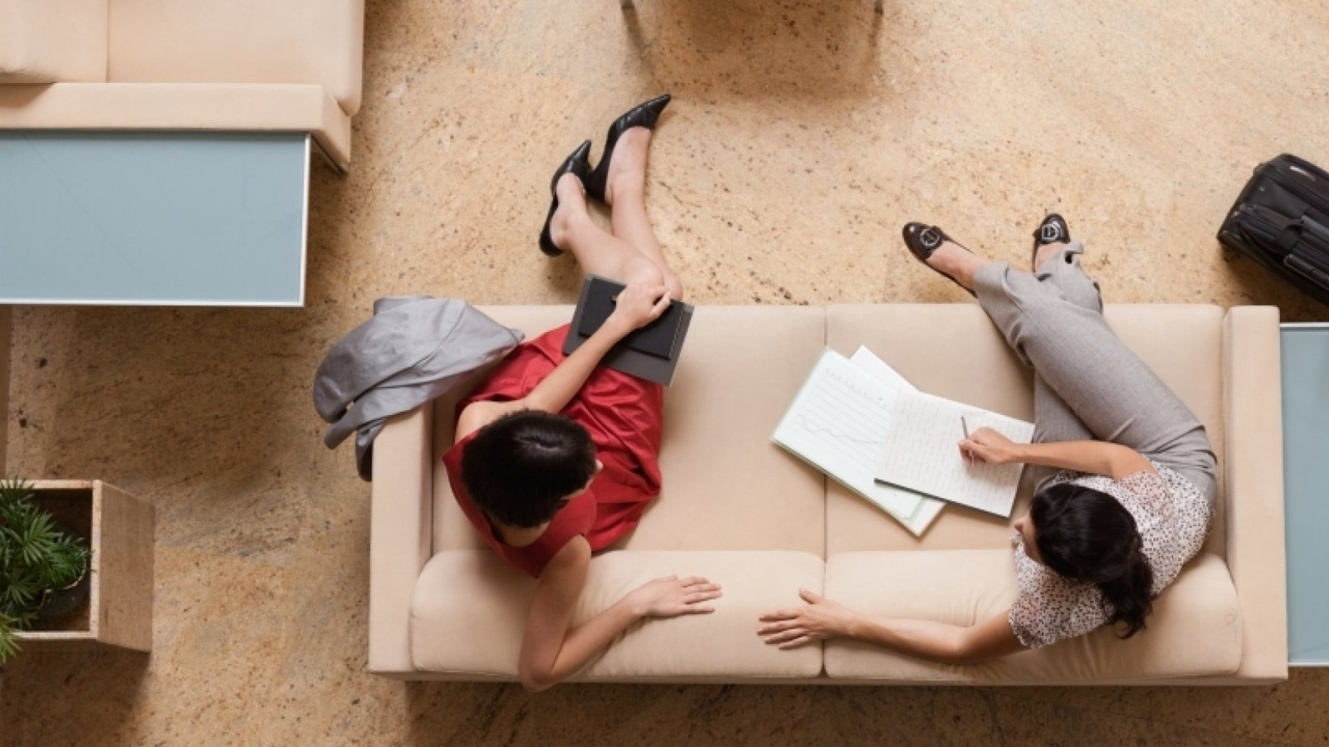 Transparency In Leadership: Why I Put a Couch in My Office