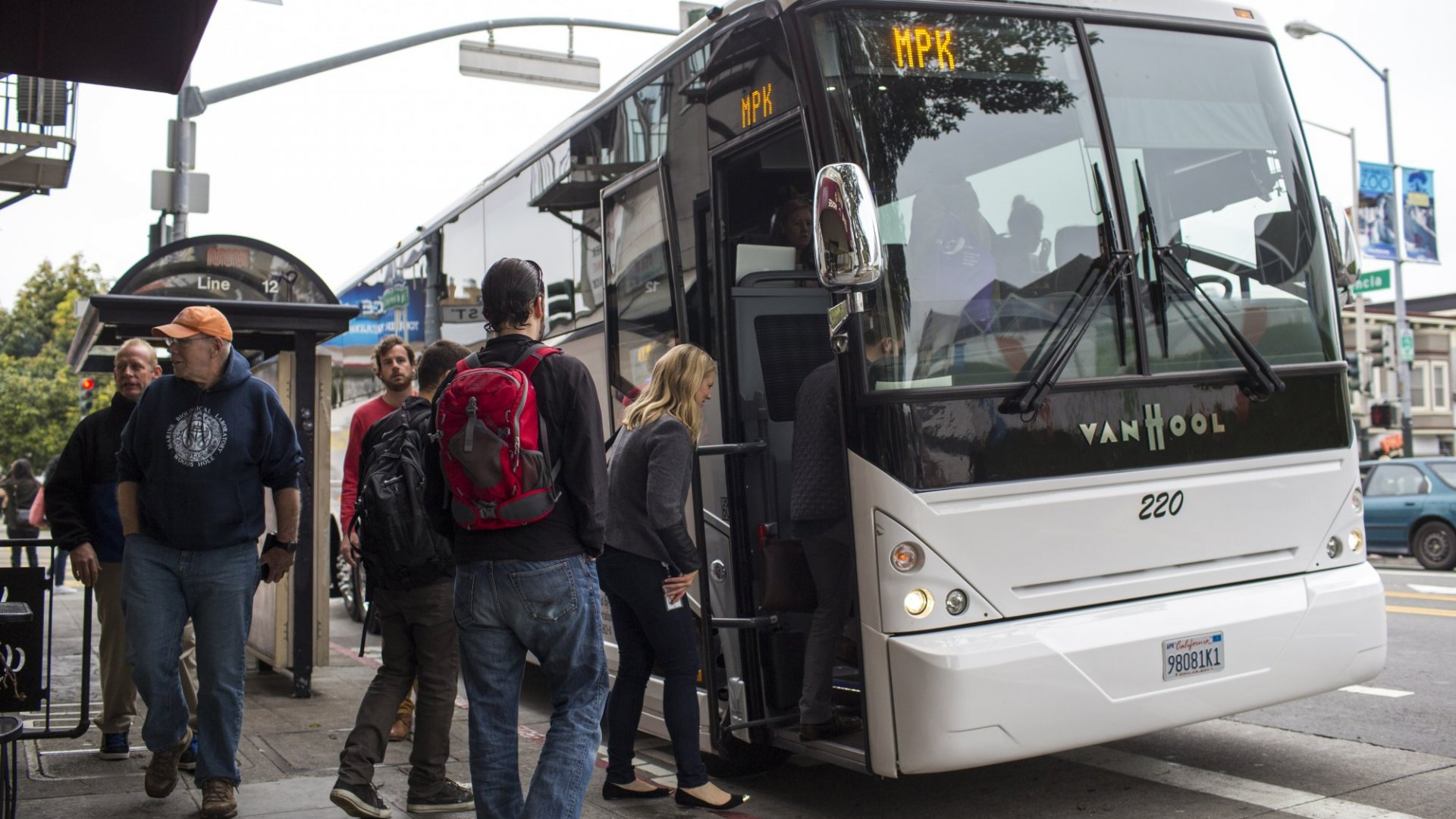 San Francisco Is Learning How to Live With Tech Shuttles