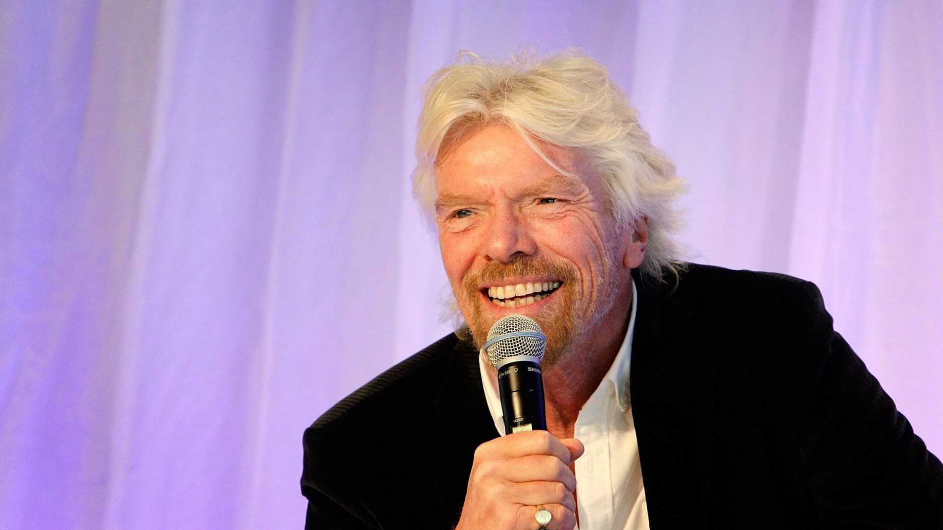 Richard Branson Wants You to Treat Your Employees Better -- and Save the World