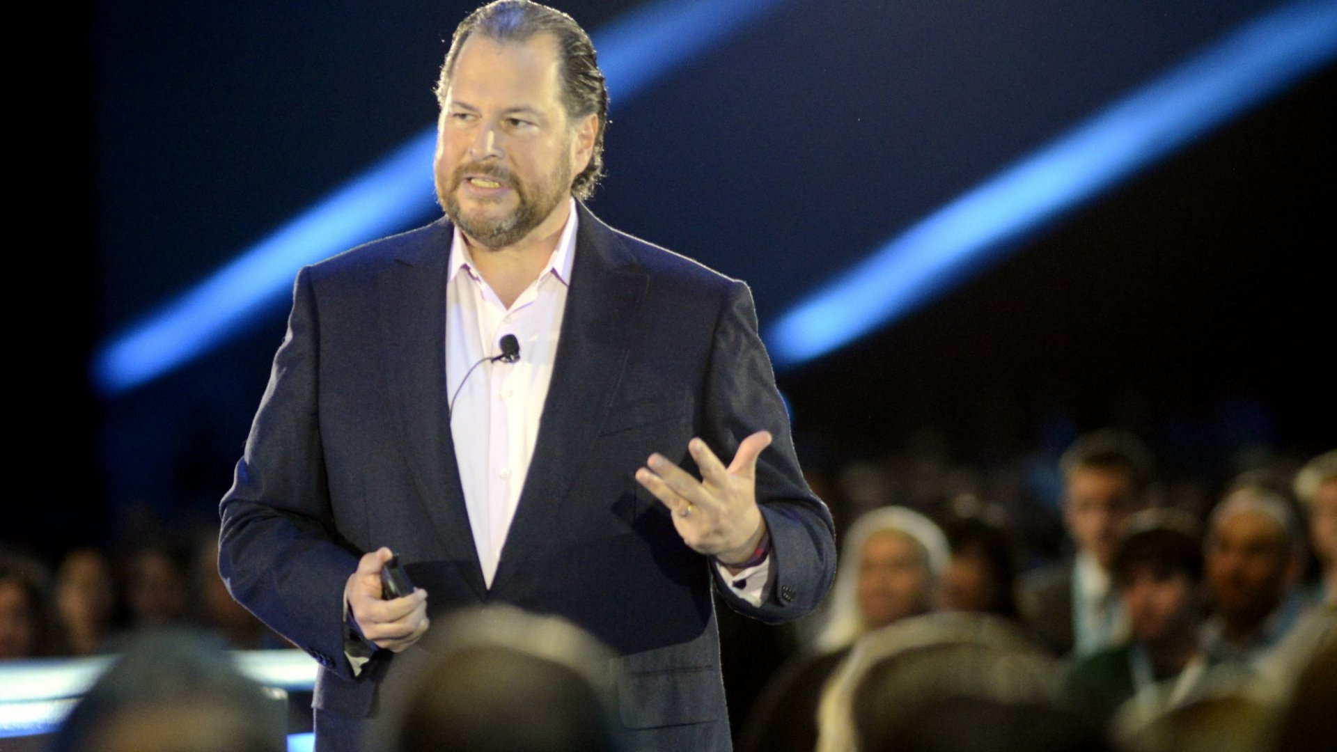Marc Benioff: Diversity at Salesforce Is Improving But Not Ideal
