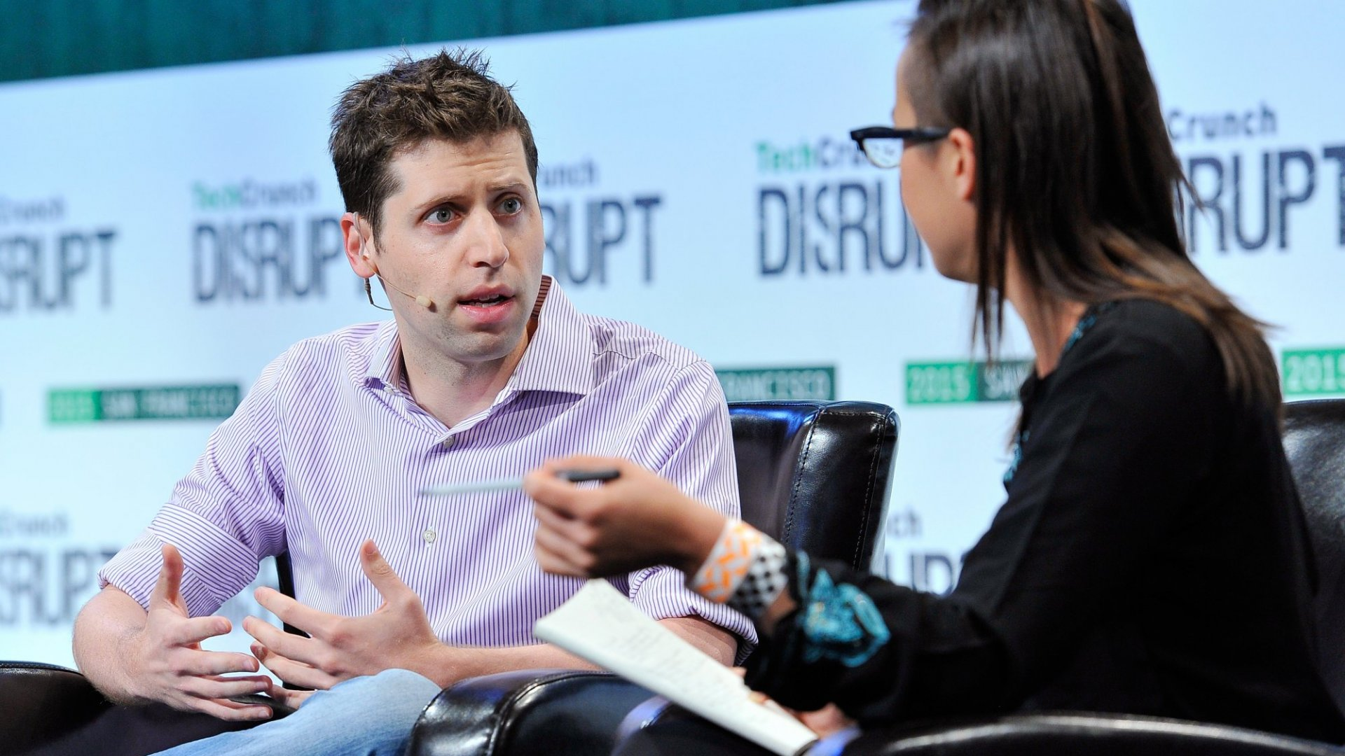 Sam Altman Worries the Government Will Fall Too Far Behind Tech