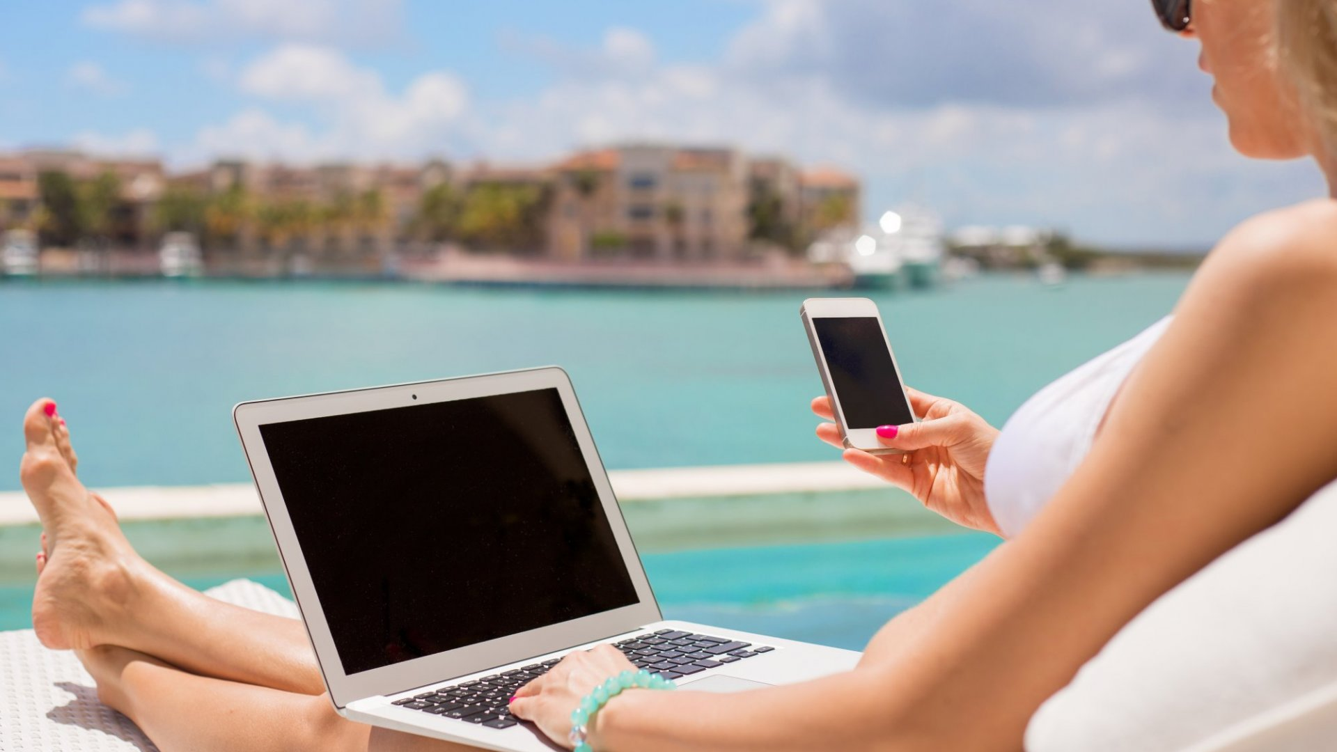 Study Shows, For Millennials, Checking In While On Vacation Is A Good Thing