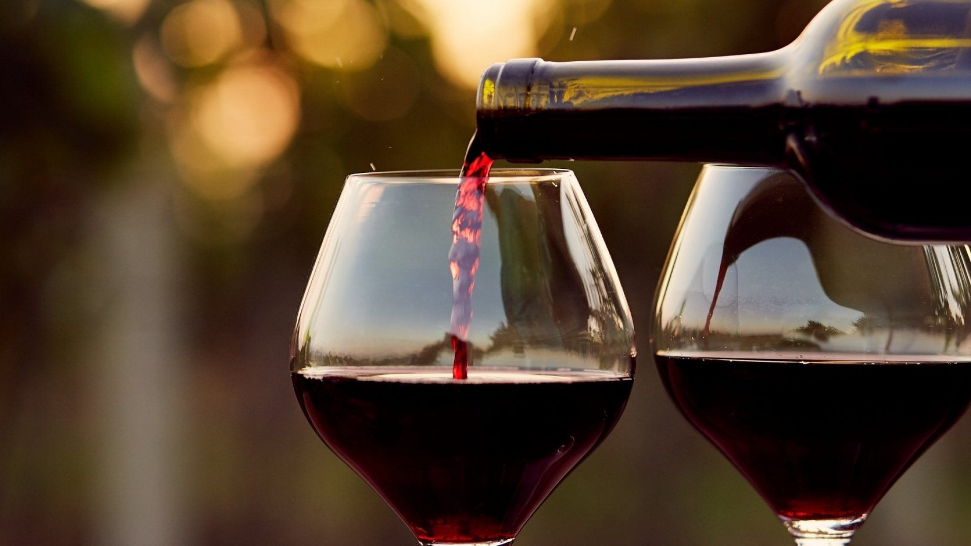 No more wine?