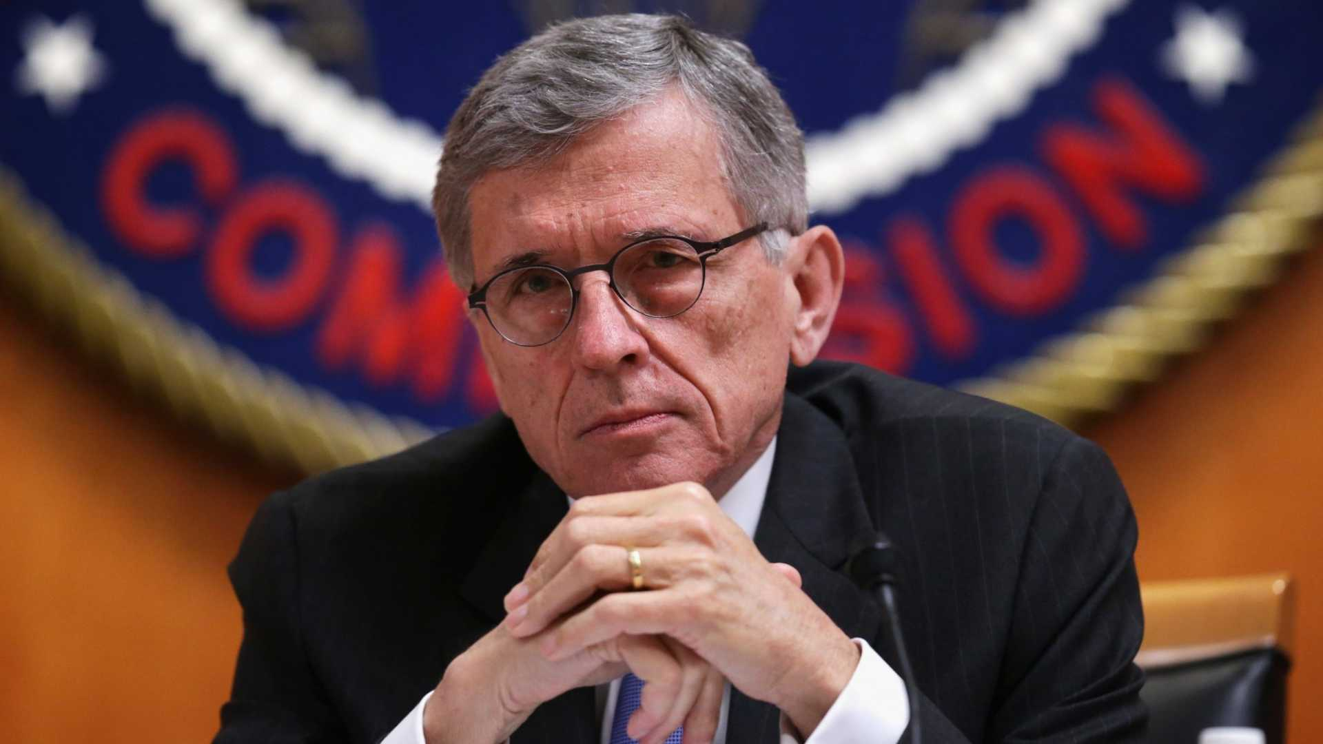 FCC Chairman Tom Wheeler says your data belongs to you.